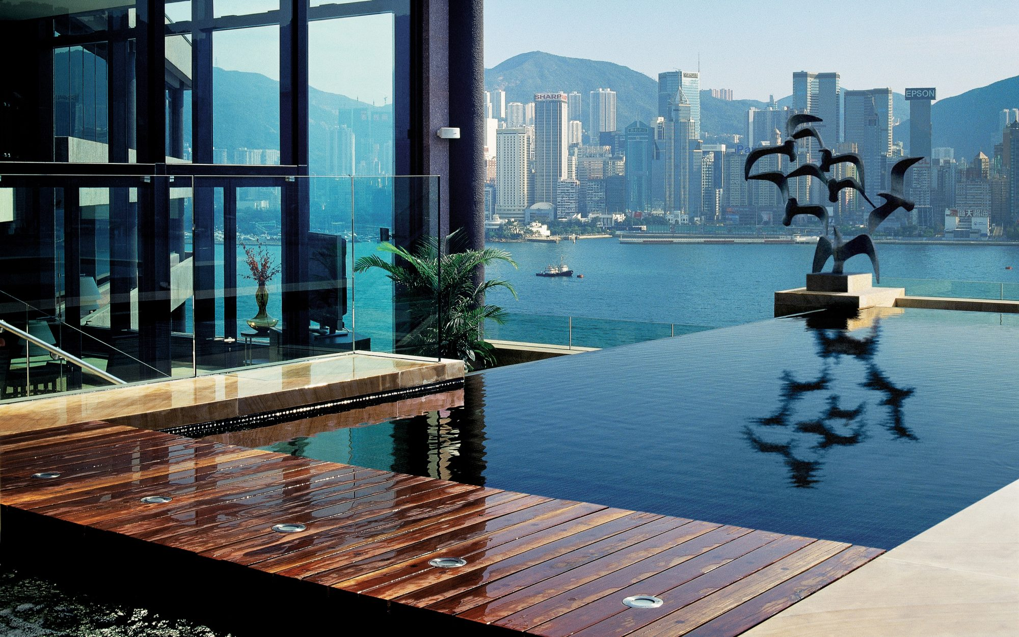 World's Coolest Plunge Pools: InterContinental Hong Kong