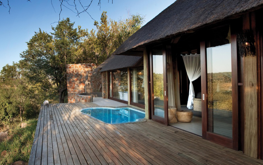 World's Coolest Plunge Pools: Leopard Hills Lodge, South Africa