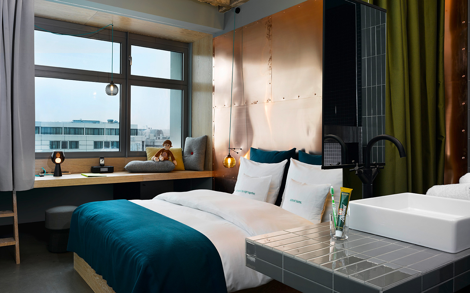 It List: The Best New Hotels 2015: Scene Maker: 25hours Hotel Bikini Berlin