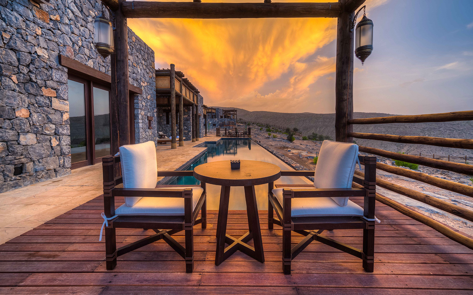 It List: The Best New Hotels 2015: Far-Flung Fantasy: Alila Jabal Akhdar, Oman