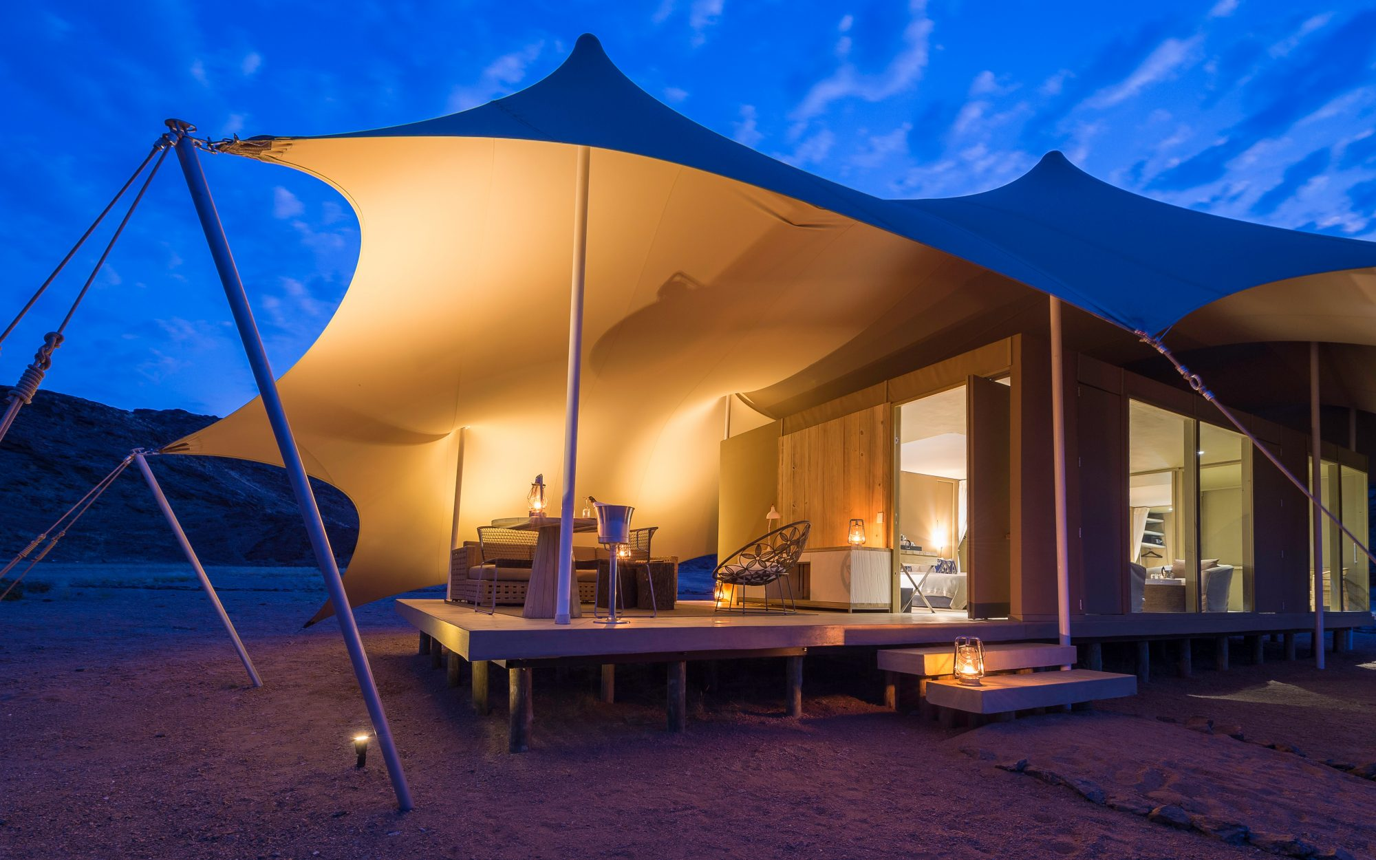 It List: The Best New Hotels 2015: Safari Shake-Up: Wilderness Safaris Hoanib Skeleton Coast Camp, Namibia