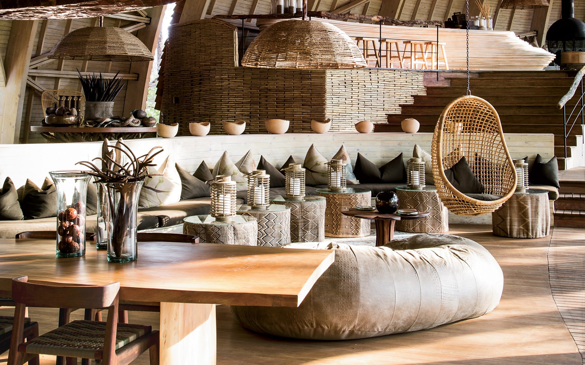 It List: The Best New Hotels 2015: Safari Shake-Up: Sandibe Okavango Safari Lodge, Okavango Delta, Botswana