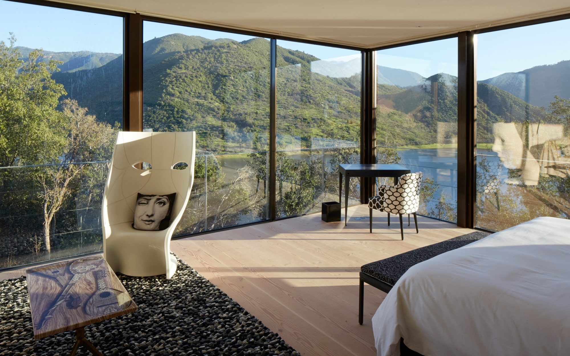 It List: The Best New Hotels 2015: Far-Flung Fantasy: Viña Vik, Millahue, Chile