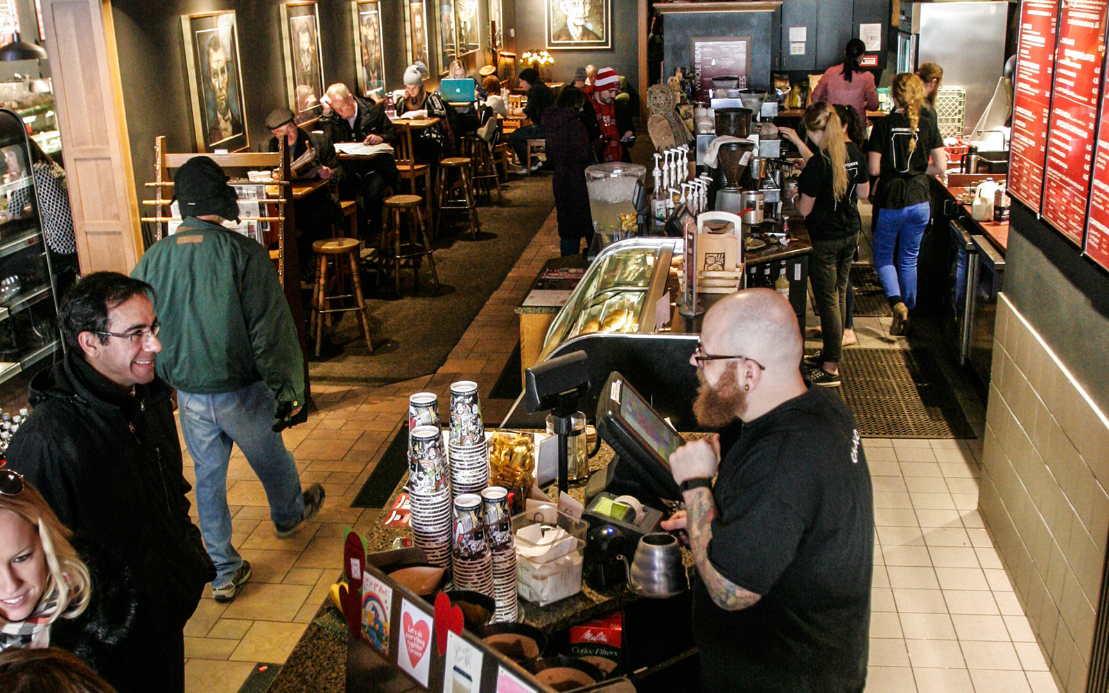 Best College Coffee Shops: Java House in Iowa City