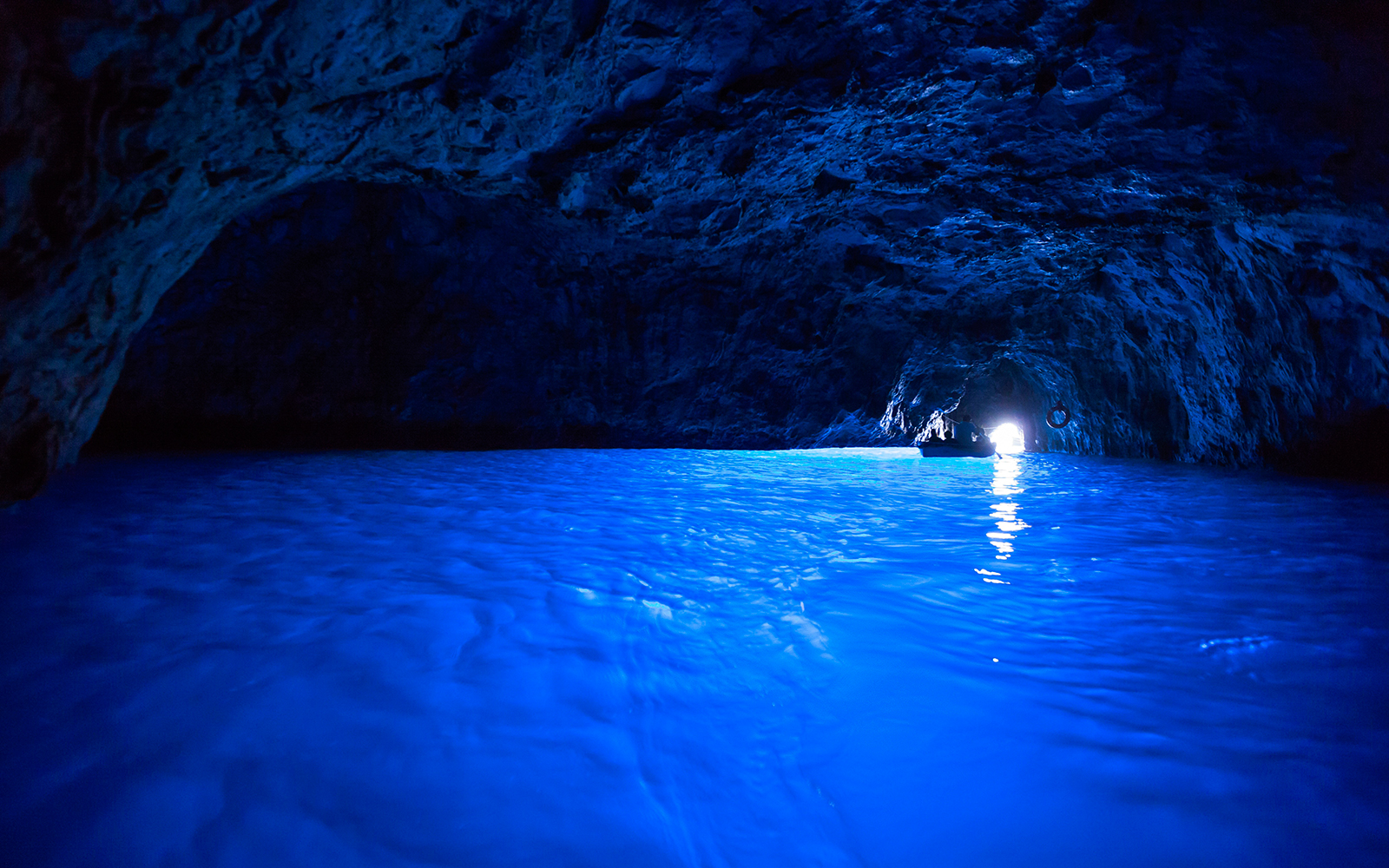 Nature's Most Spectacular Light Shows: Blue Grotto - Capri, Italy