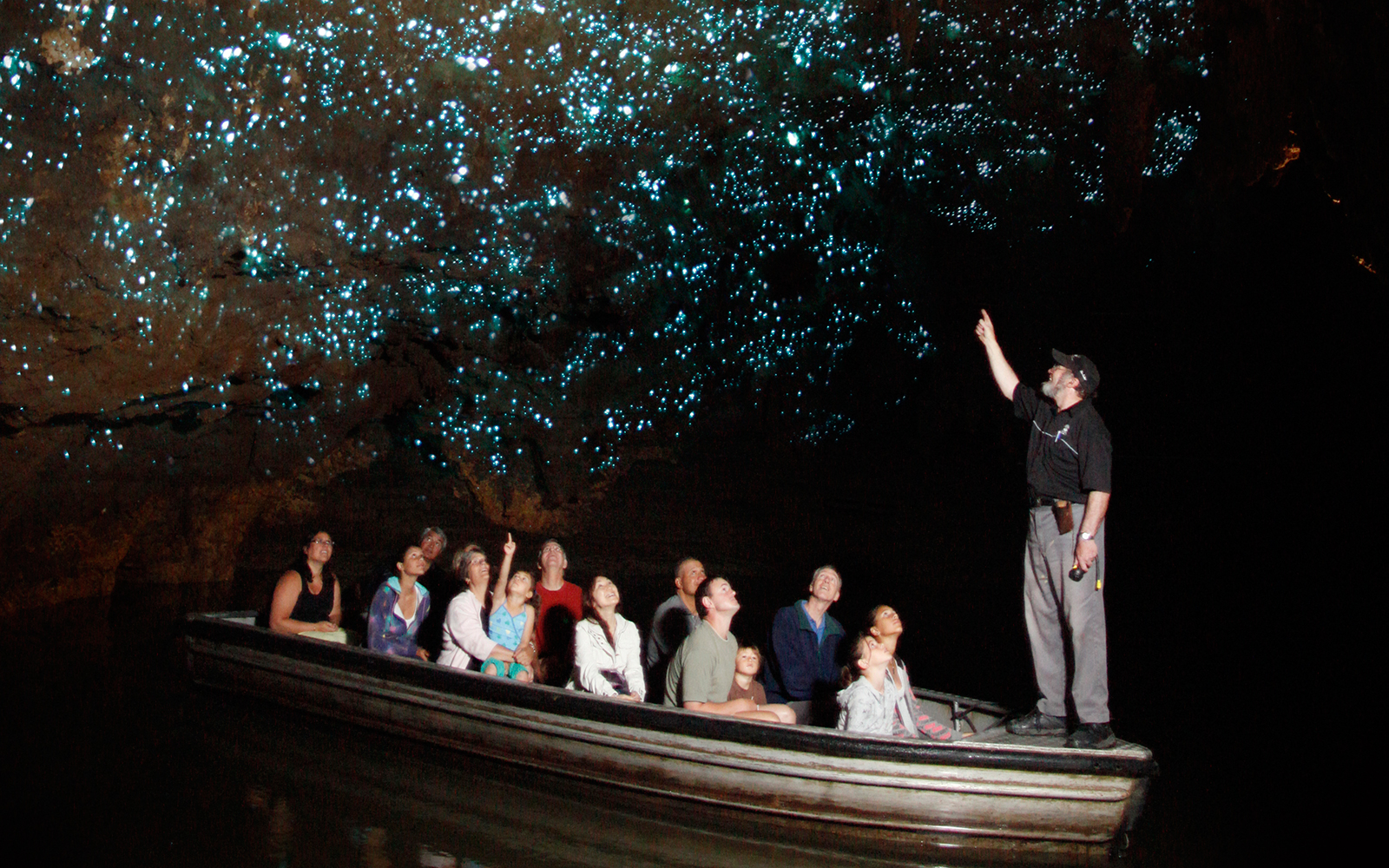 Nature's Spectacular Light Shows: Waitomo Glowworm Caves in Auckland, New Zealand
