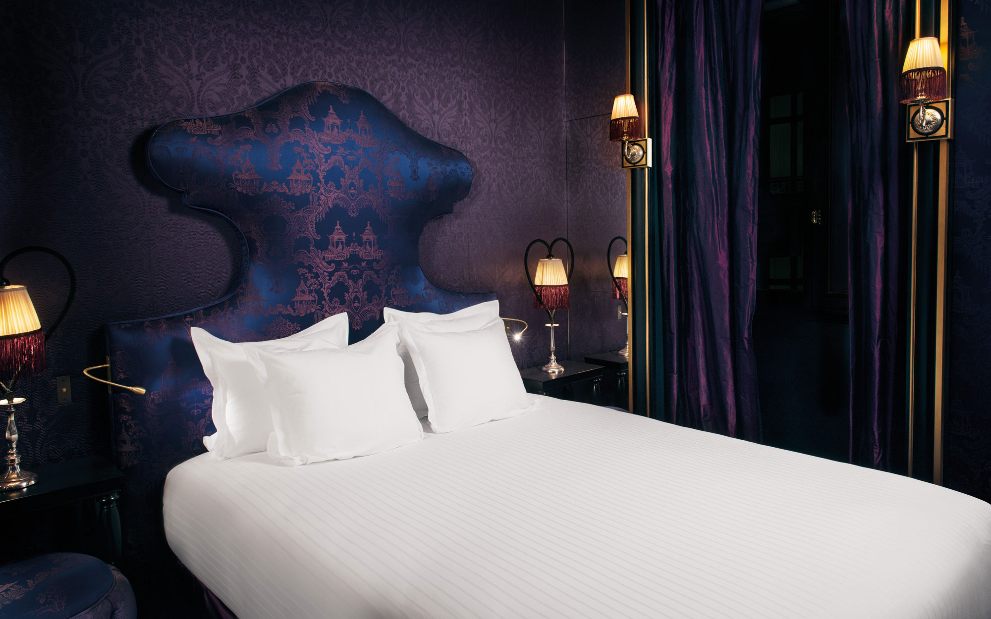 New to Paris: a Vampy Hotel With Design Steeped in Sex: Liane de Pougy