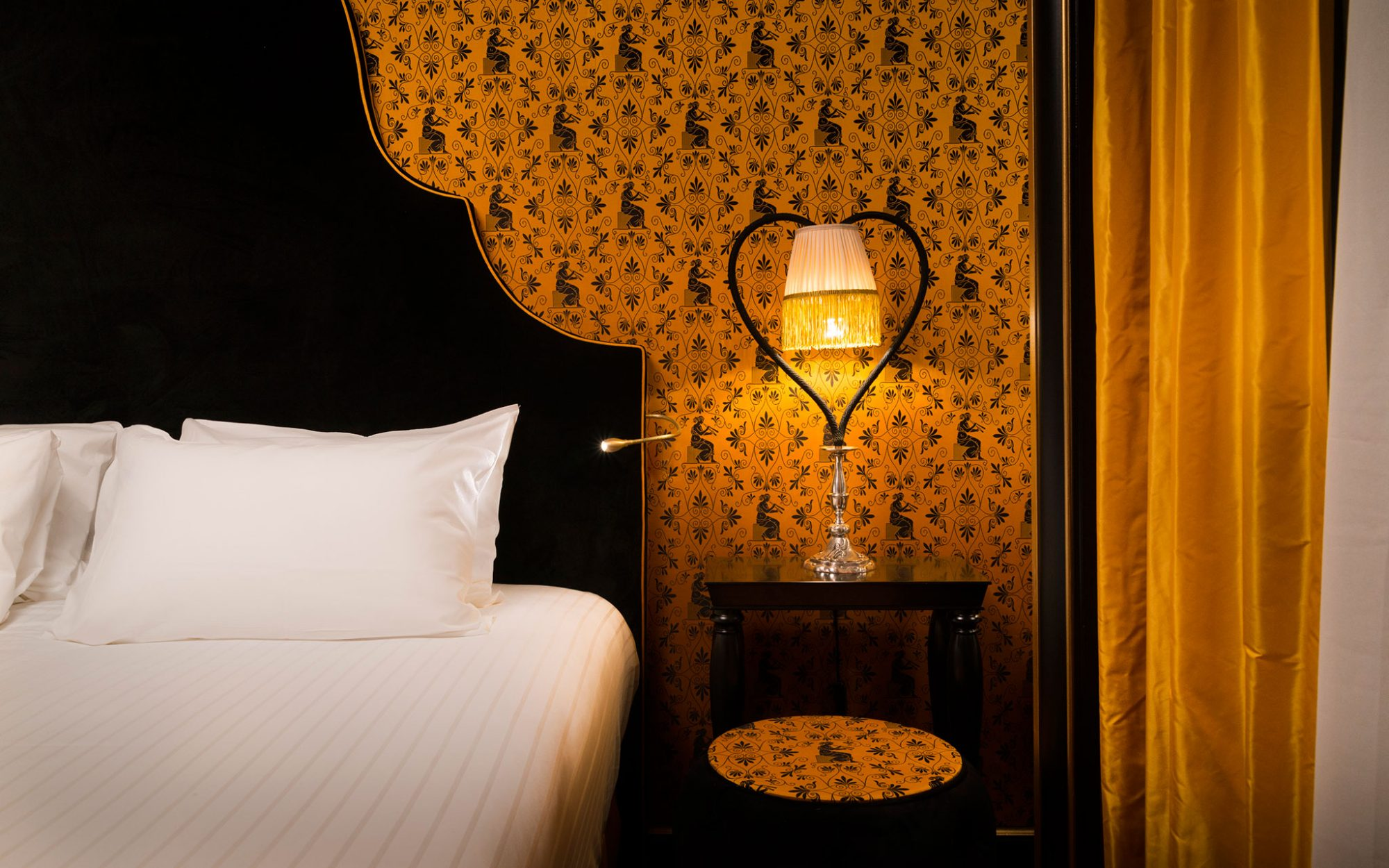 New to Paris: a Vampy Hotel With Design Steeped in Sex: La Paiva apartment