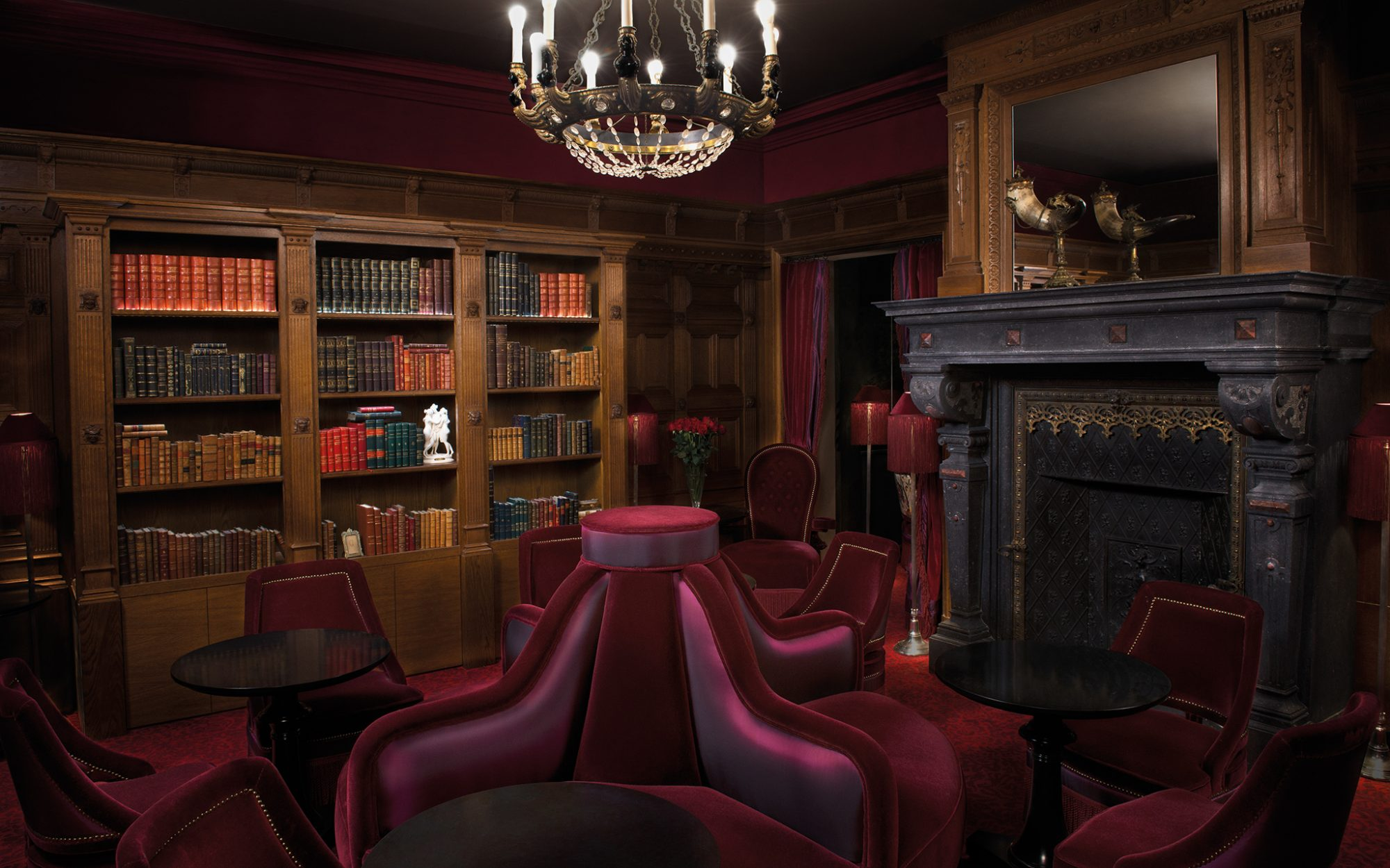 New to Paris: a Vampy Hotel With Design Steeped in Sex: Lounge