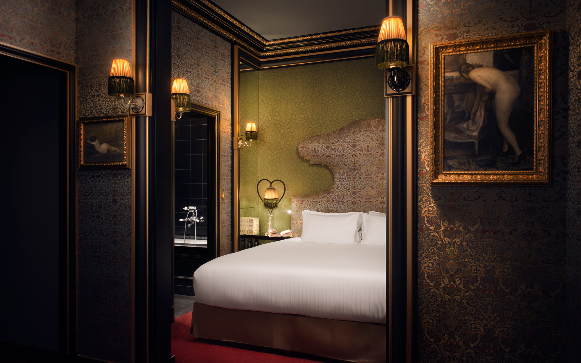 New to Paris: a Vampy Hotel With Design Steeped in Sex: Junior Suite