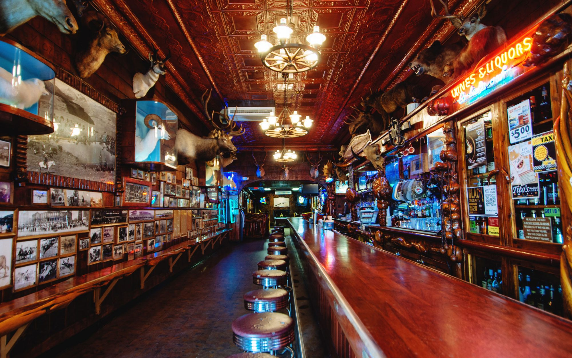 America's Original Speakeasies: Mint Bar in Sheridan, Wyoming