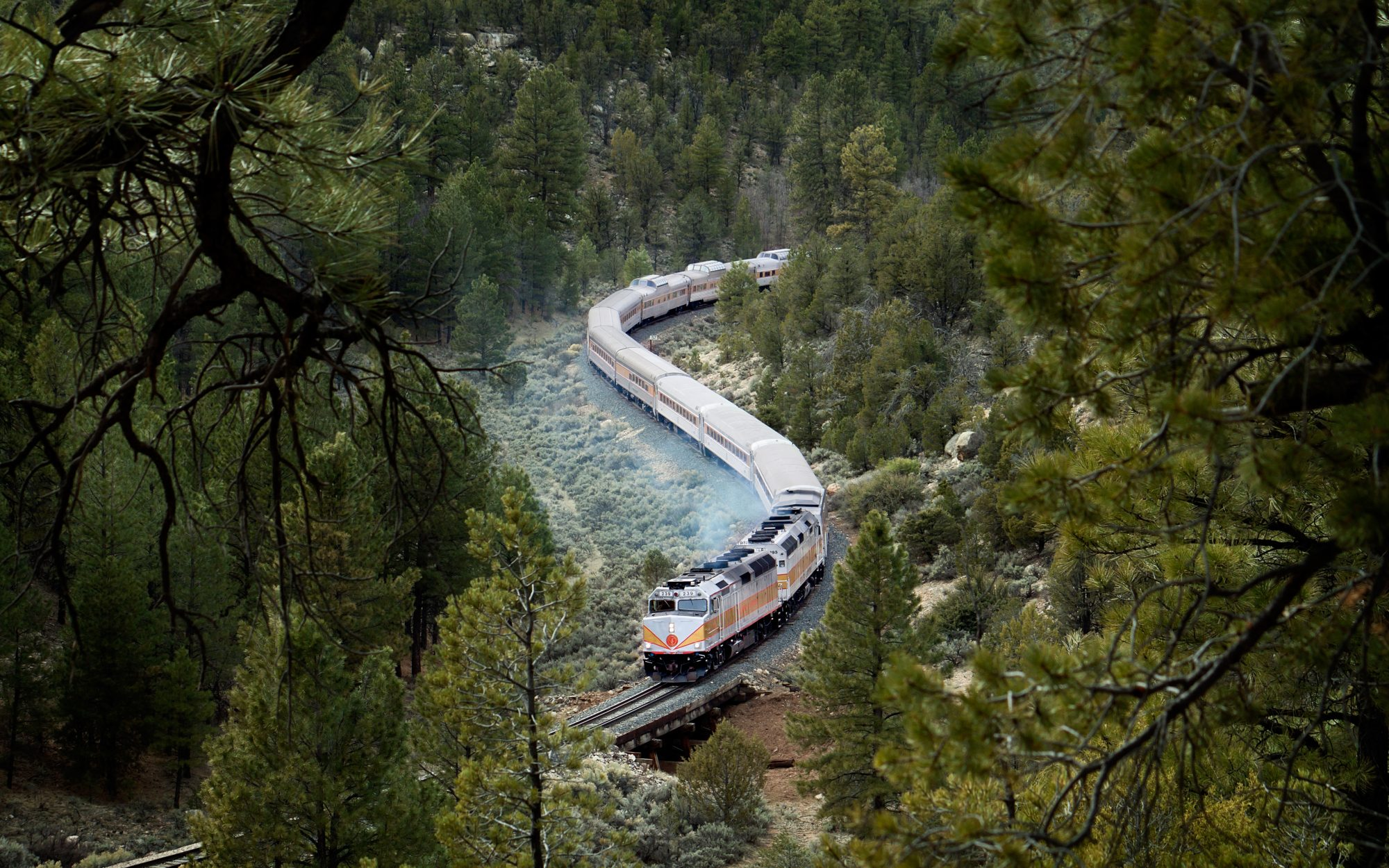America's Most Romantic Train Trips: Grand Canyon Railway