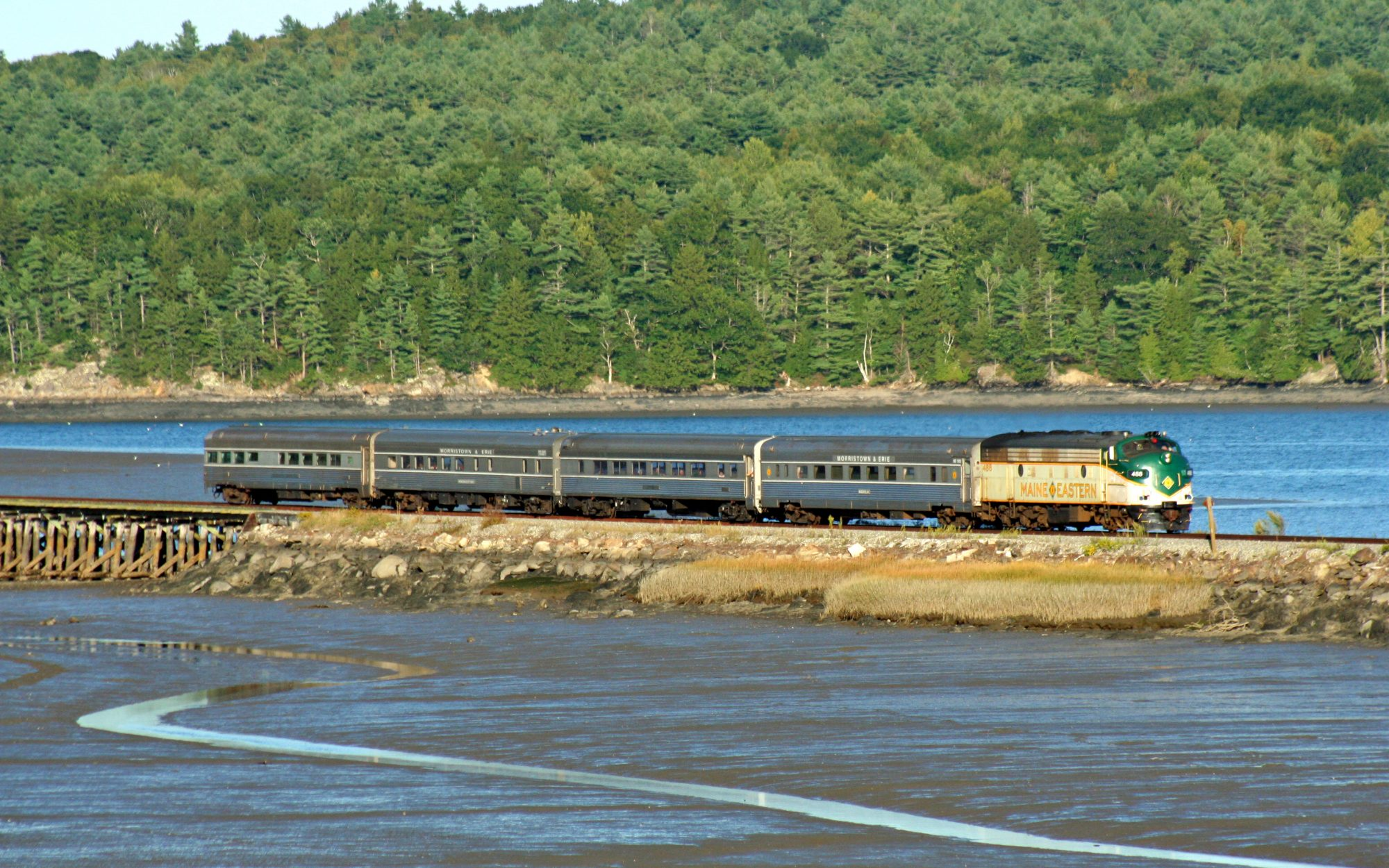 America's Most Romantic Train Trips: Maine Eastern Railroad