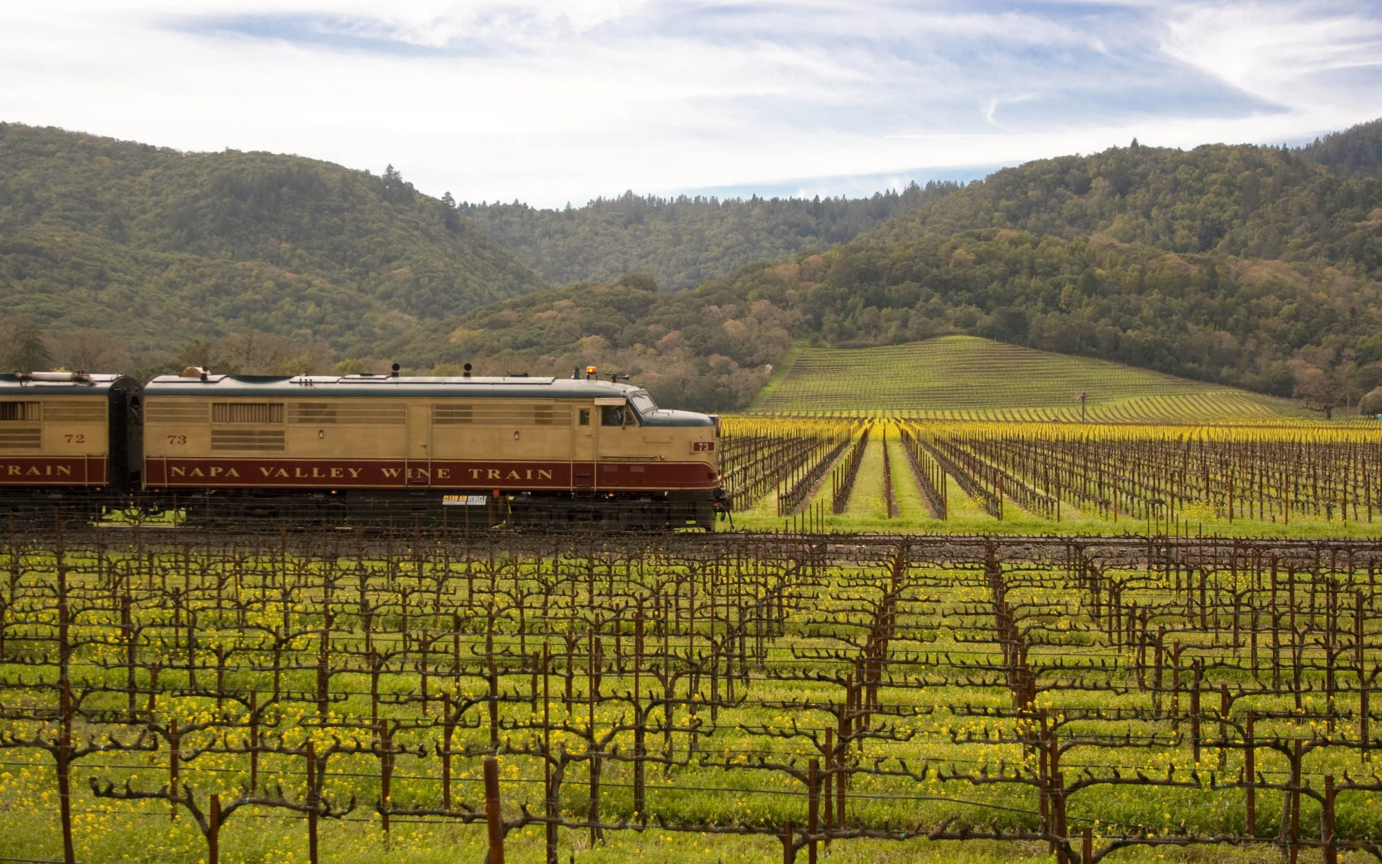 America's Most Romantic Train Trips: Napa Valley Wine Train