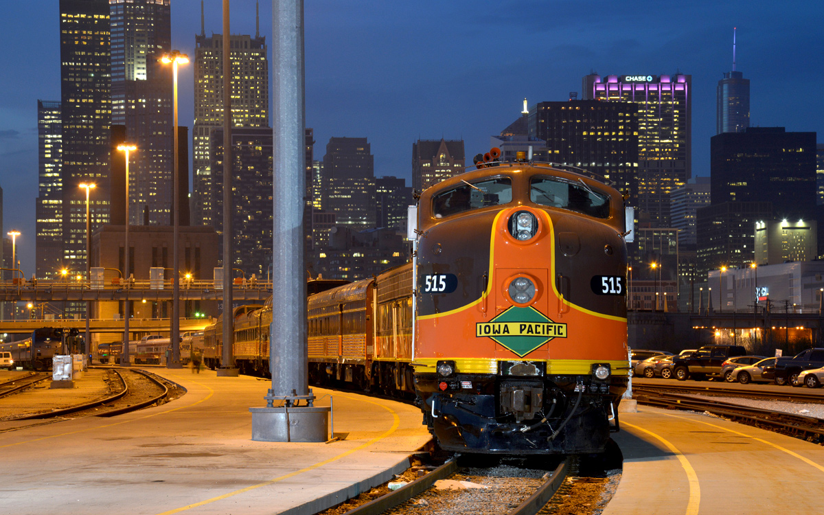America's Most Romantic Train Trips: Pullman Rail Journeys (Chicago-New Orleans)