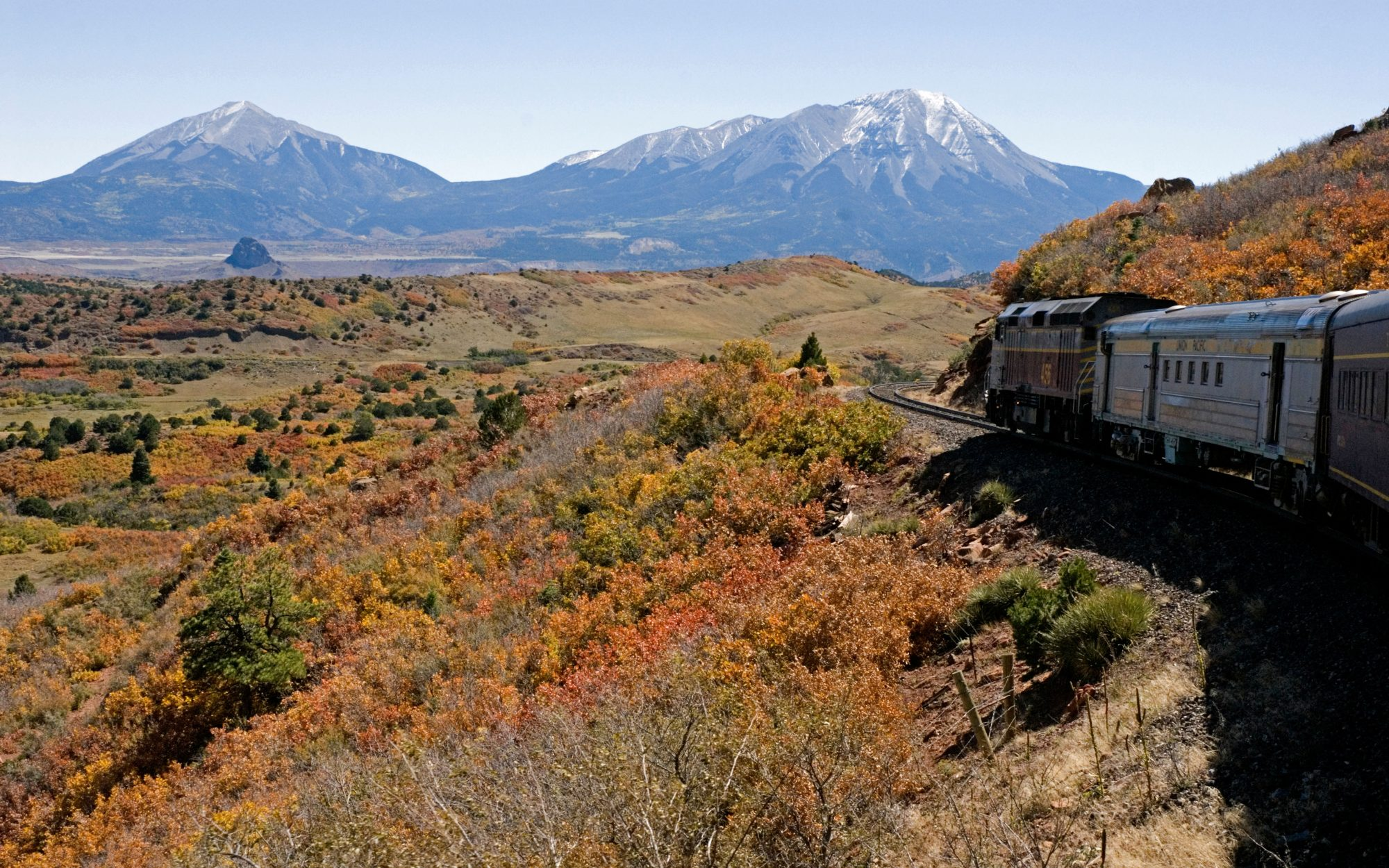America's Most Romantic Train Trips: Rio Grande Scenic Railroad