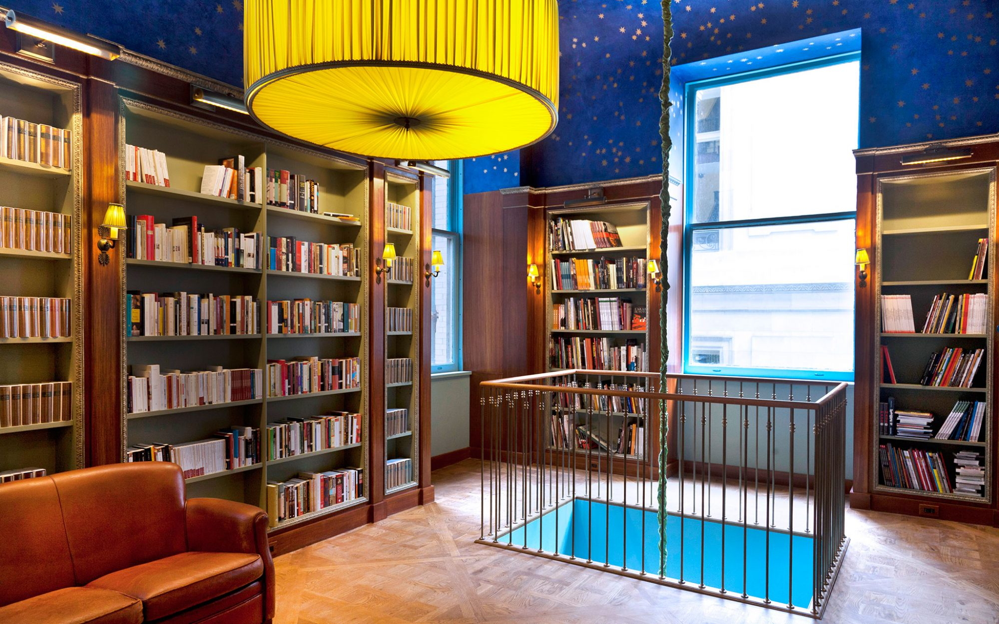 World's Coolest New Tourist Attractions 2015: Albertine Bookstore, New York City