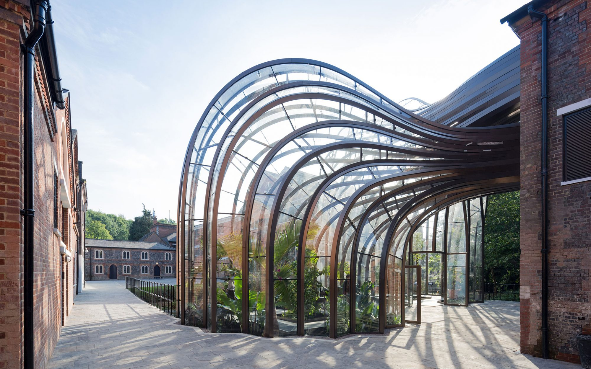 World's Coolest New Tourist Attractions 2015: Bombay Sapphire Distillery, Laverstoke, England