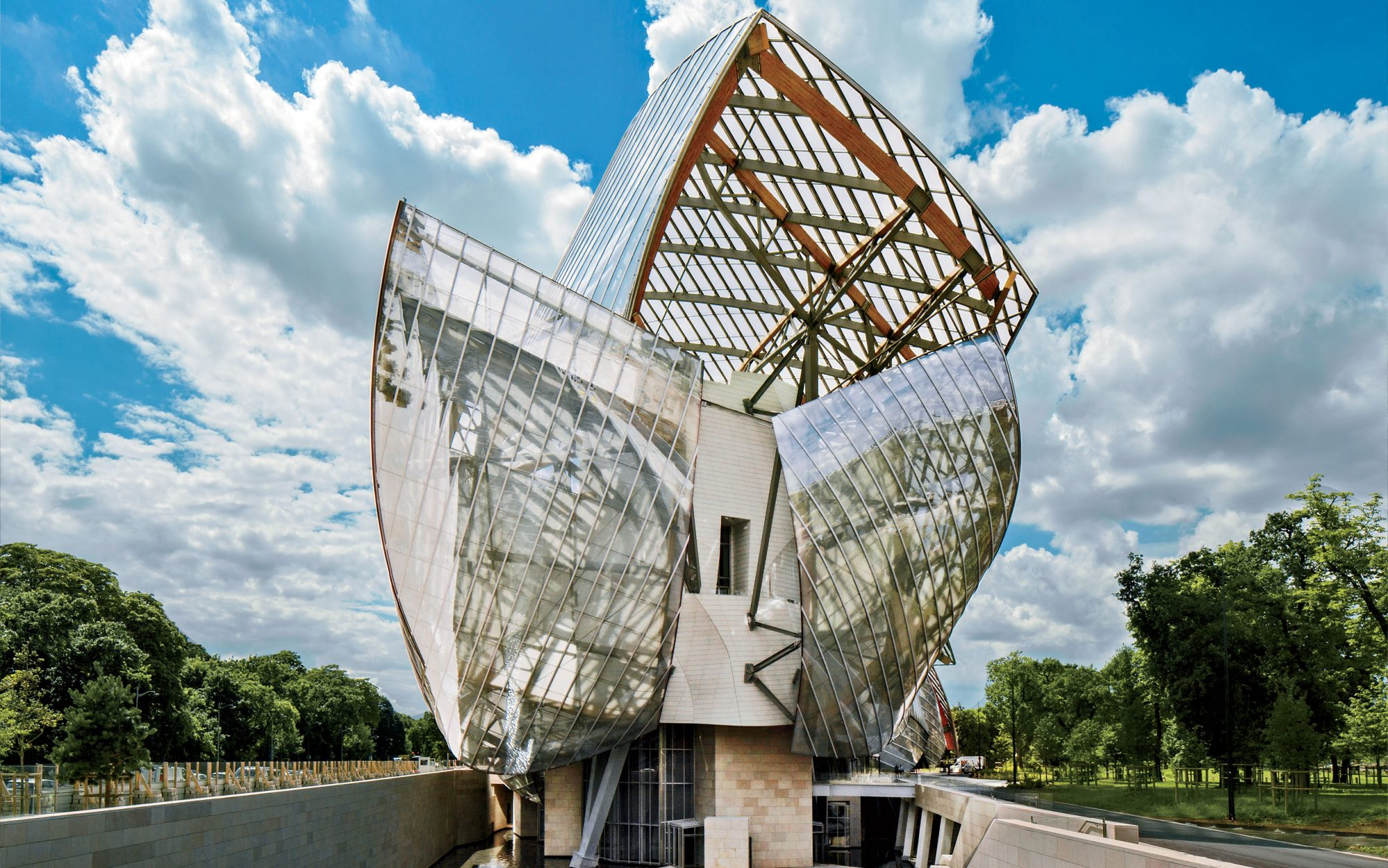 World's Coolest New Tourist Attractions 2015: Fondation Louis Vuitton, Paris
