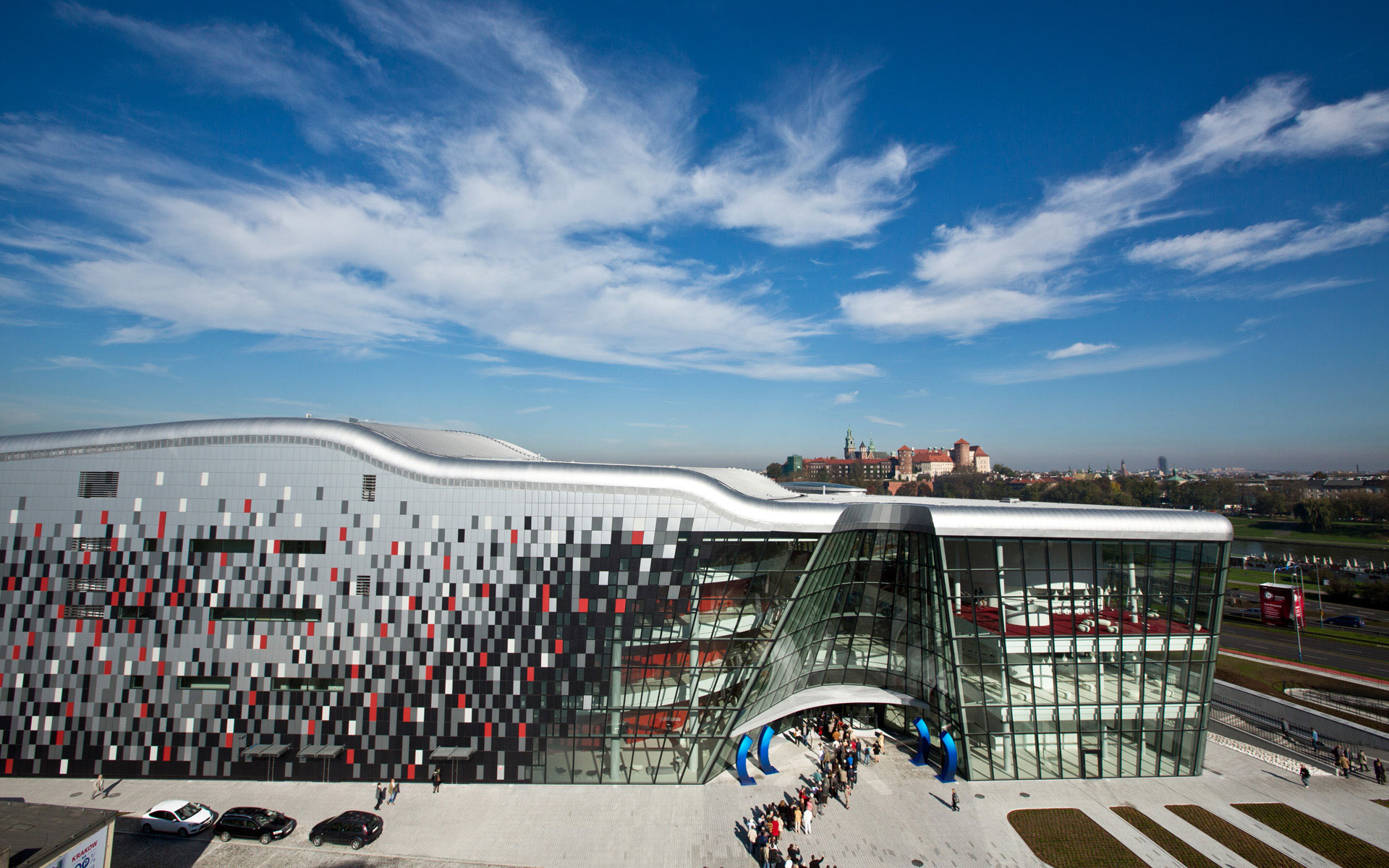 World's Coolest New Tourist Attractions 2015: ICE Kraków Congress Centre, Poland