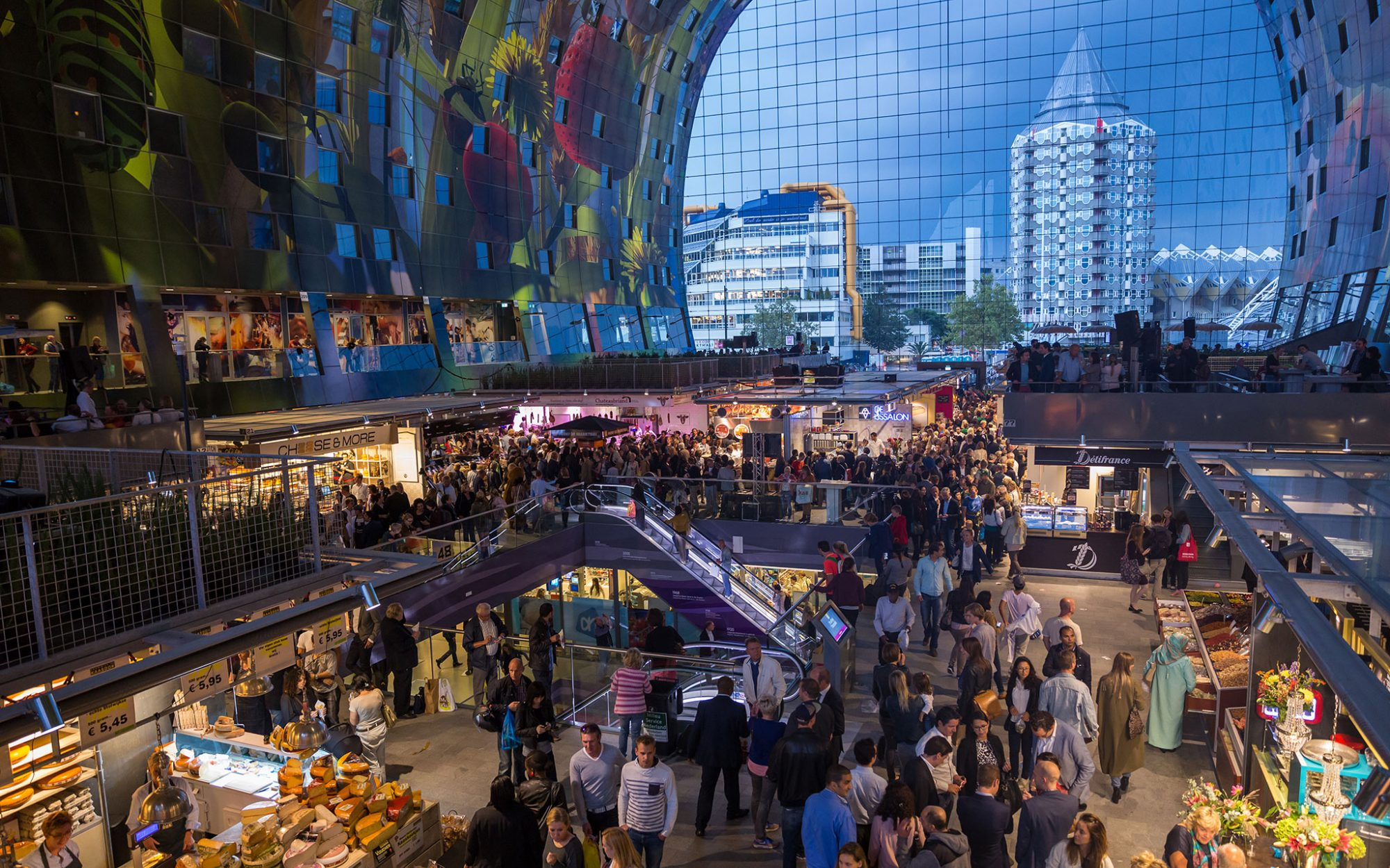 World's Coolest New Tourist Attractions 2015: Markthal Rotterdam, Netherlands