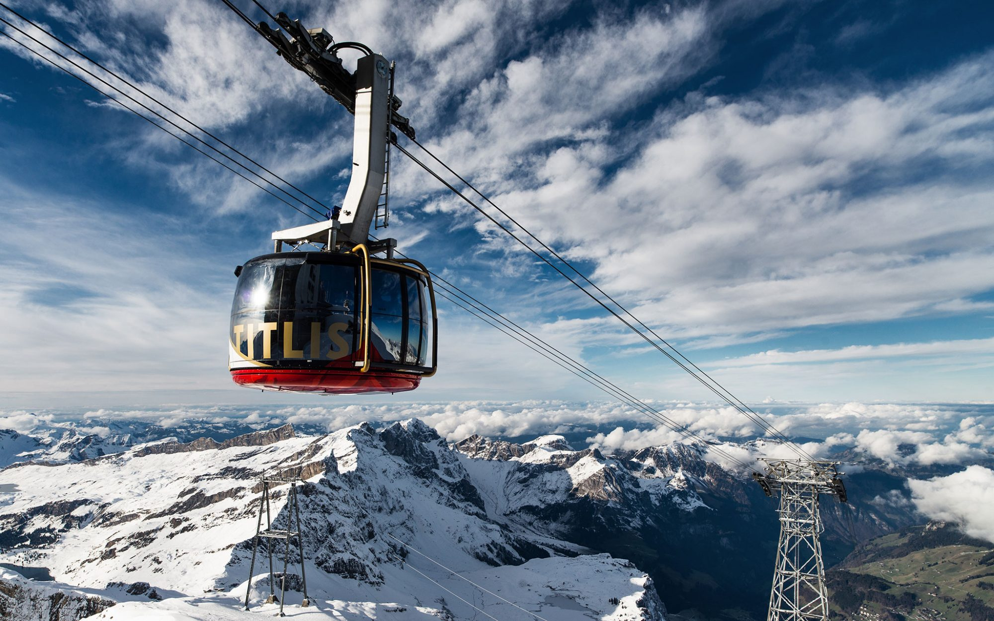 World's Coolest New Tourist Attractions 2015: Titlis Rotair, Engelberg, Switzerland