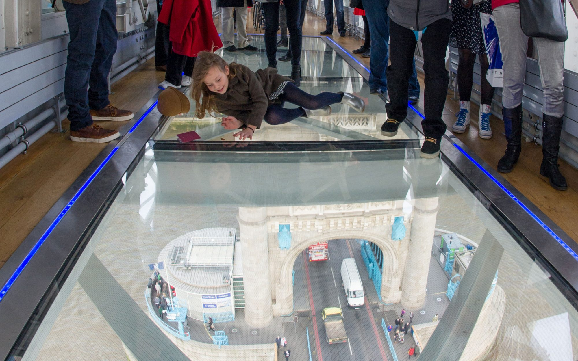 World's Coolest New Tourist Attractions 2015: Tower Bridge Glass Floor, London