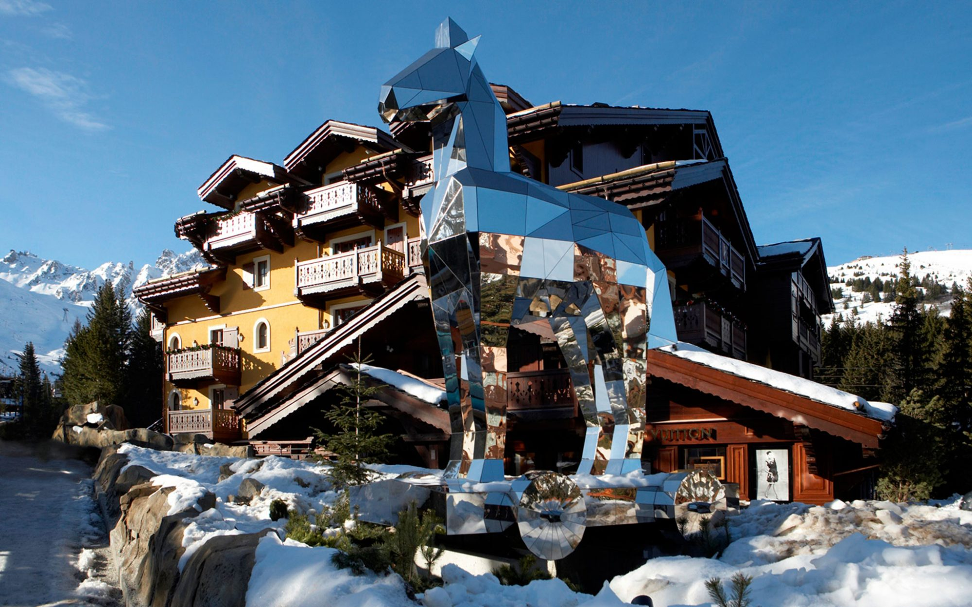 Europe's Best Winter Getaways: Courchevel, France