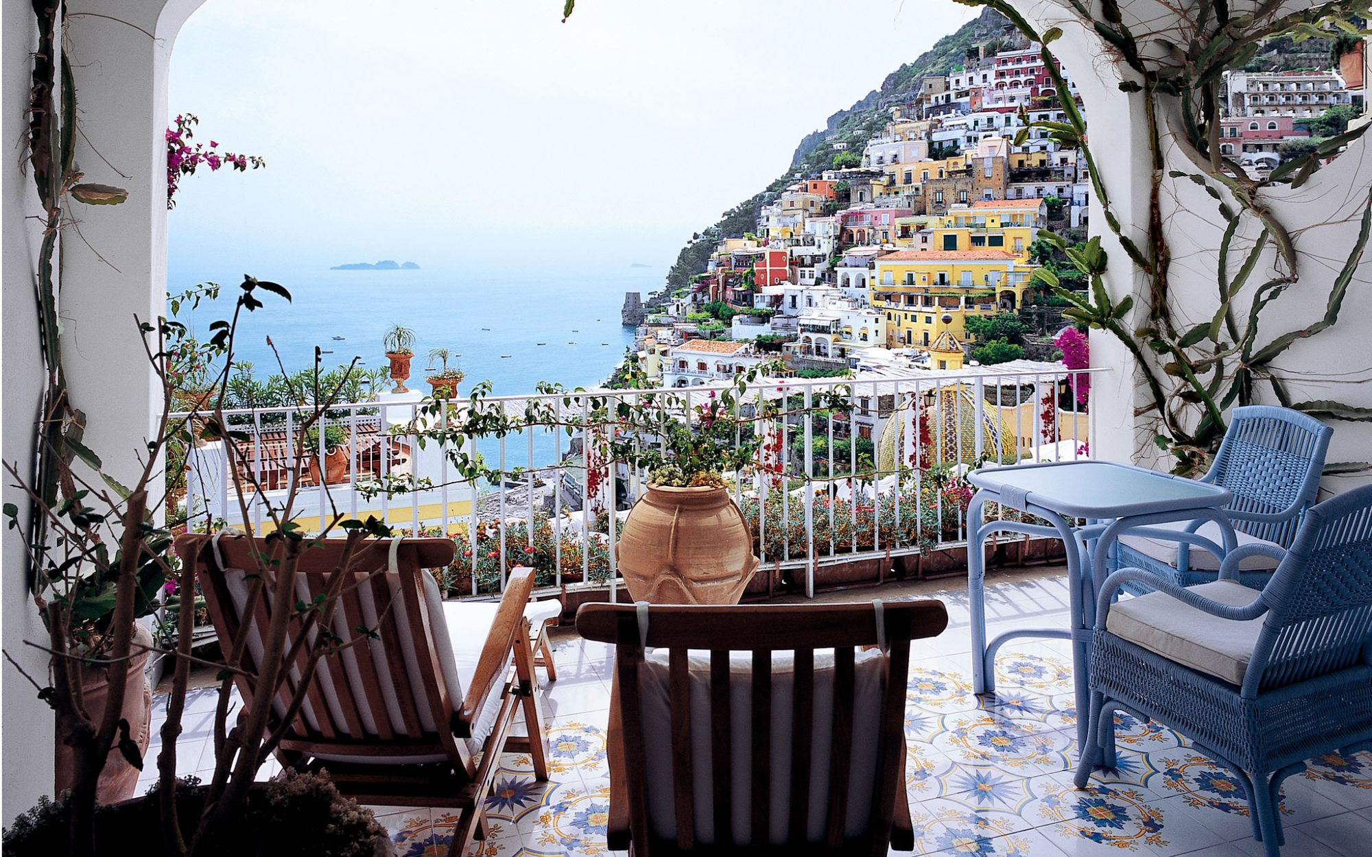 World's Most Romantic Hotels: No. 23 (tie) Le Sirenuse, Positano, Italy