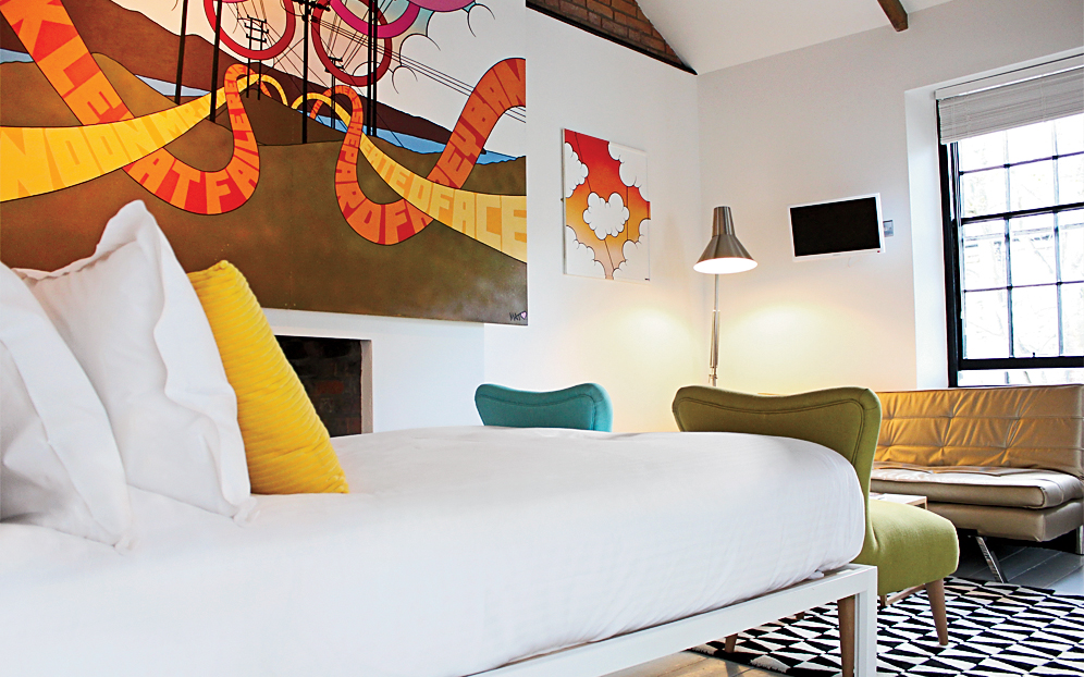 A Hip New Breed of Inns: Artist Residence, London