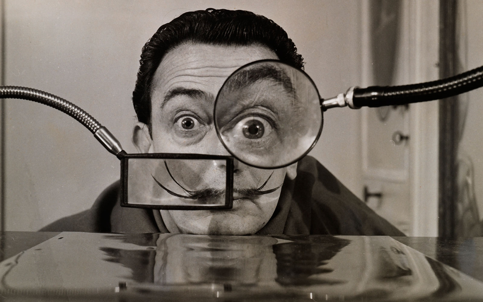Willy Rizzo photograph of Salvador Dalí.