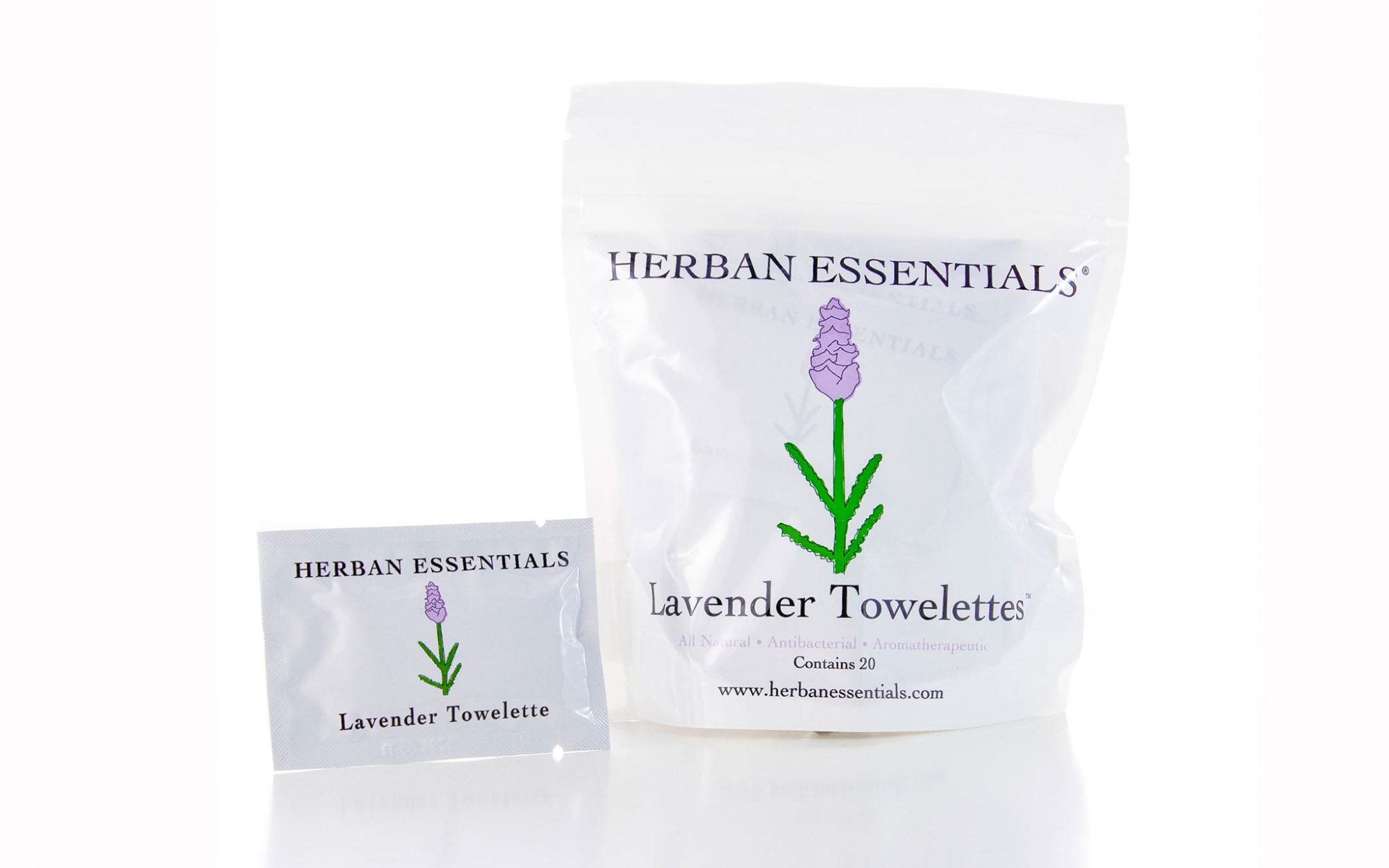 19 Liquid-Free Beauty Products for a Spill-Proof Carry-On: Herban Essentials Towelettes