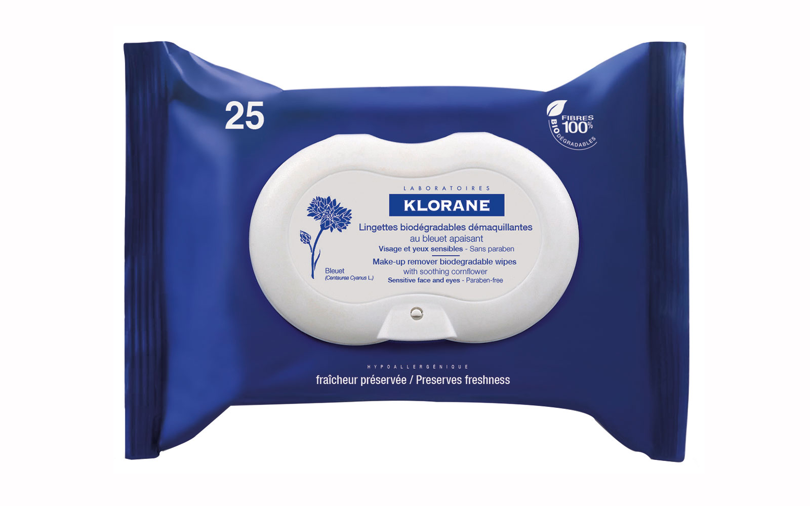 19 Liquid-Free Beauty Products for a Spill-Proof Carry-On: Klorane Make Up Remover Wipes