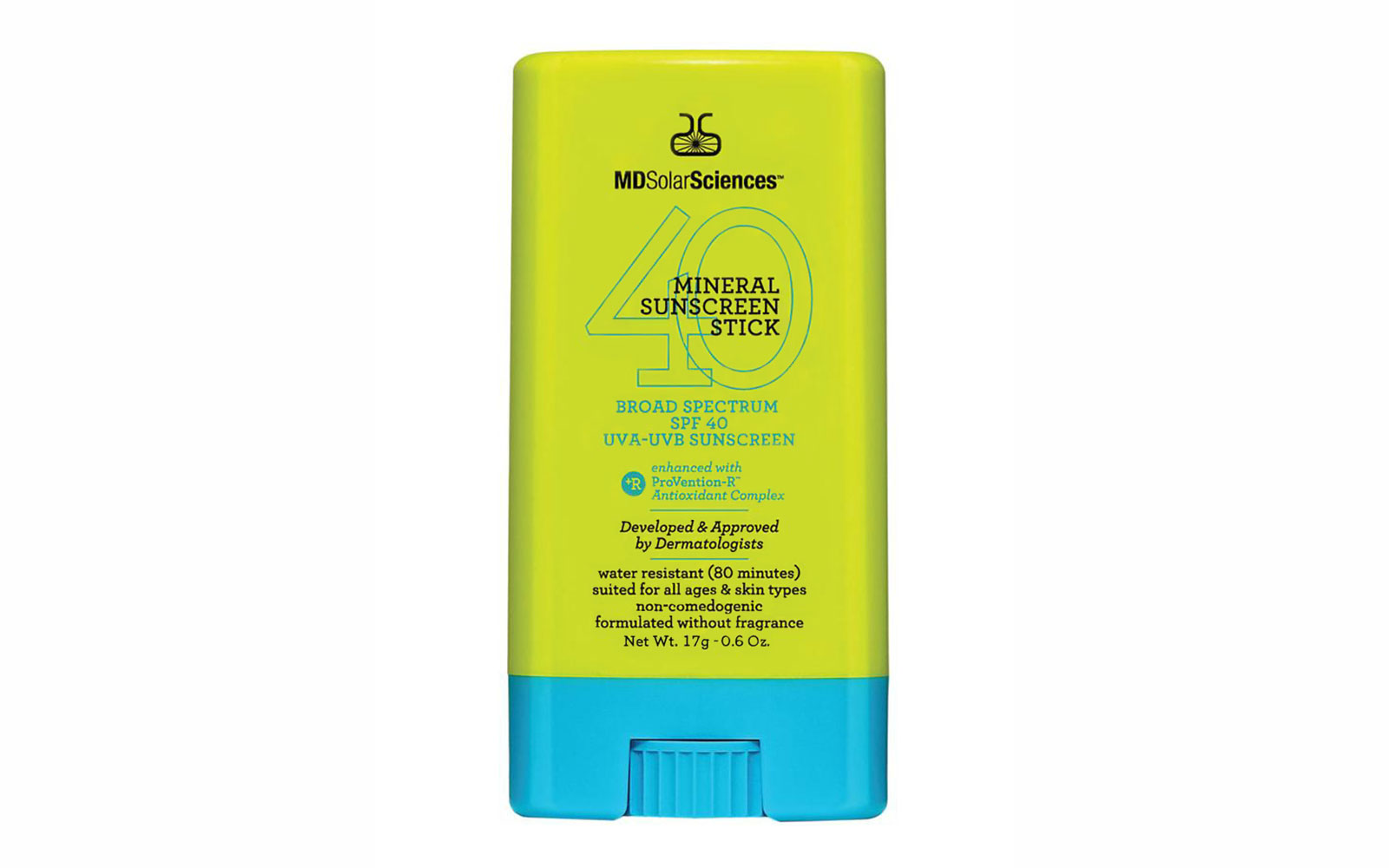 19 Liquid-Free Beauty Products for a Spill-Proof Carry-On: MD Solar Sciences Mineral Sunscreen Stick