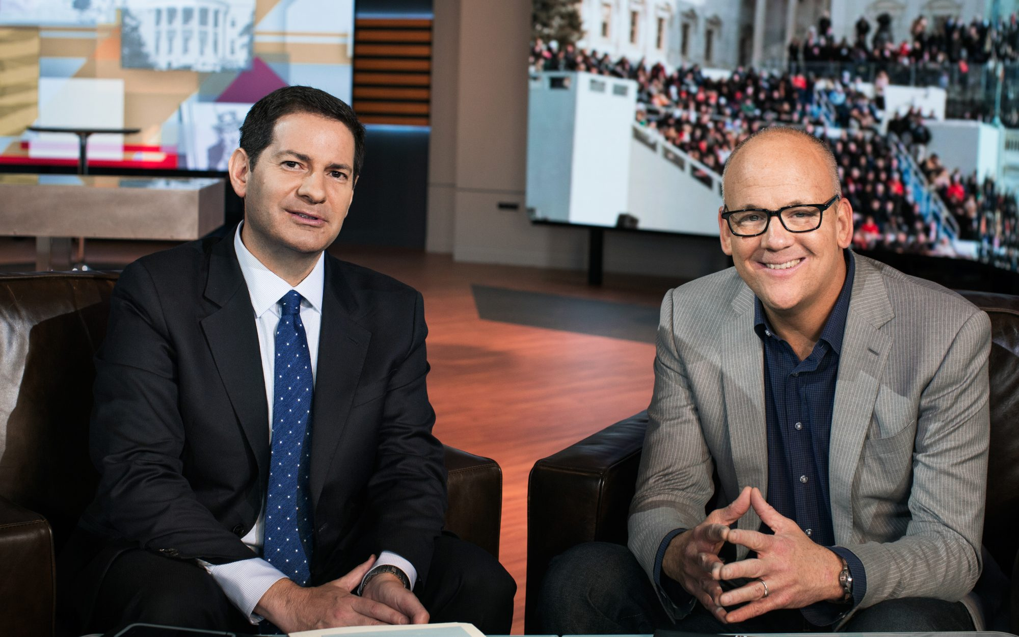 Mark Halperin and John Heilemann