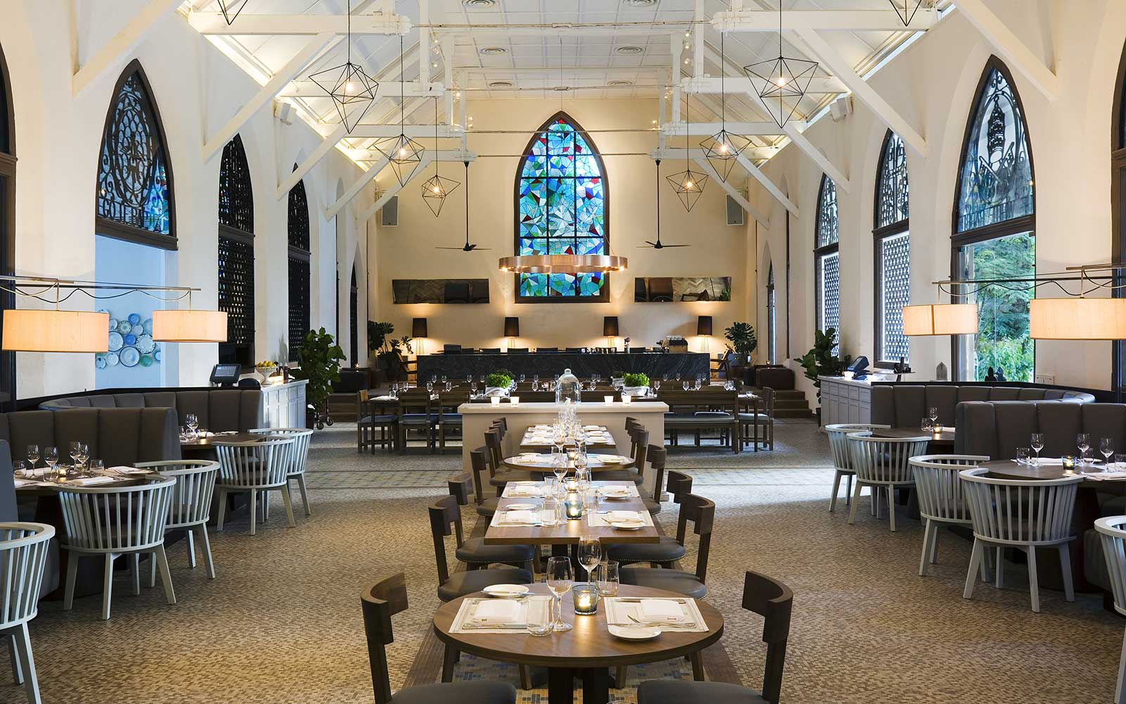 13 Grand Churches, Reincarnated: White Rabbit Restaurant in Singapore