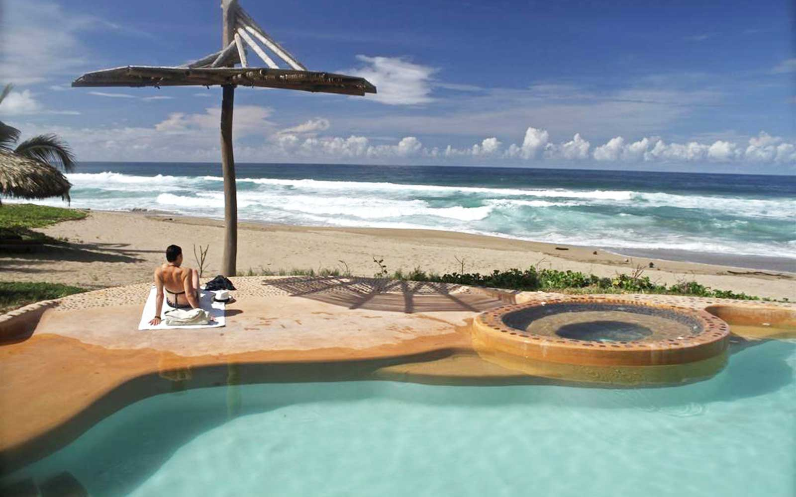 Mexico's Greenest Hotels Offer Guests a Certain 'Om'-biance: Playa Viva in Juluchuca, Guerrero