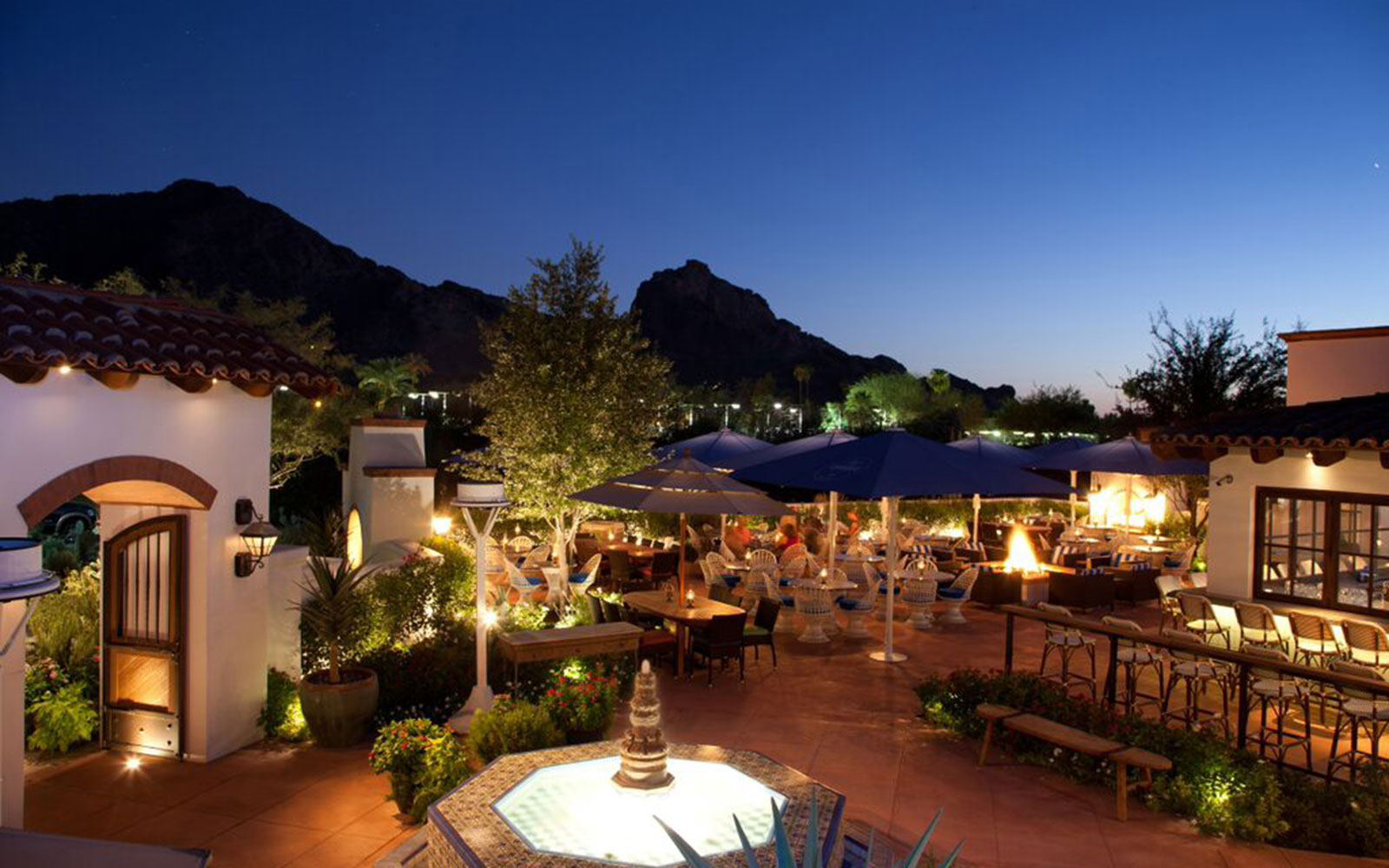 Ten of America's Best Outdoor Dining Spots, According to OpenTable: El Chorro in Paradise Valley, Arizona