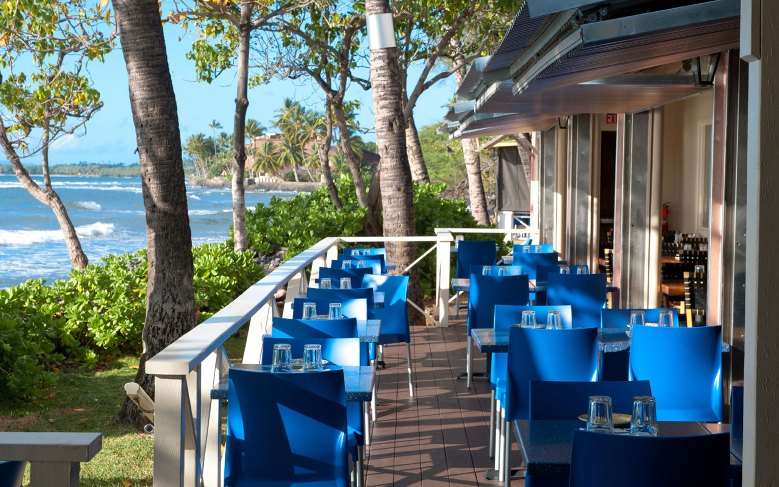 Ten of America's Best Outdoor Dining Spots, According to OpenTable: Frida's in Lahaina, Hawaii