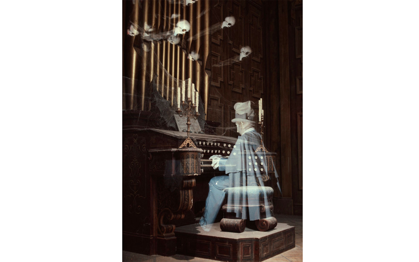 Things You Didn't Know About Disney Parks: Haunted Mansion organ