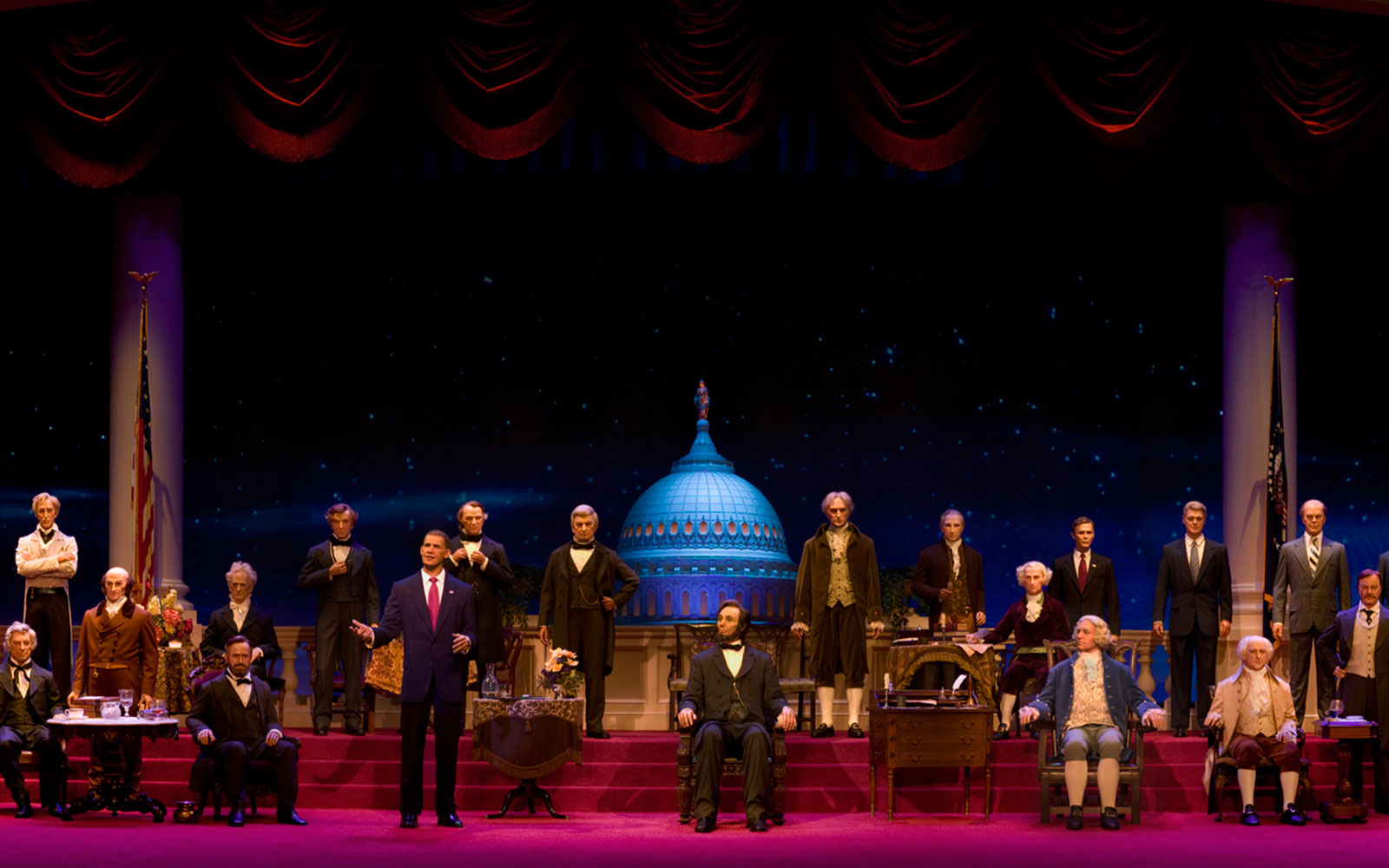 Things You Didn't Know About Disney Parks: Hall of Presidents