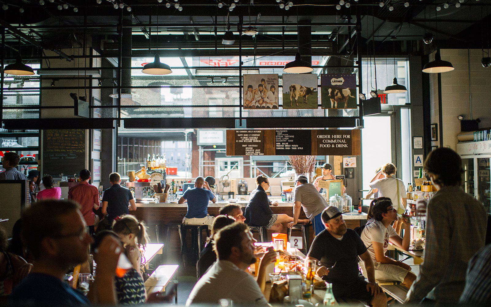 Best New Food Halls Around the World: Gotham West Market, New York City