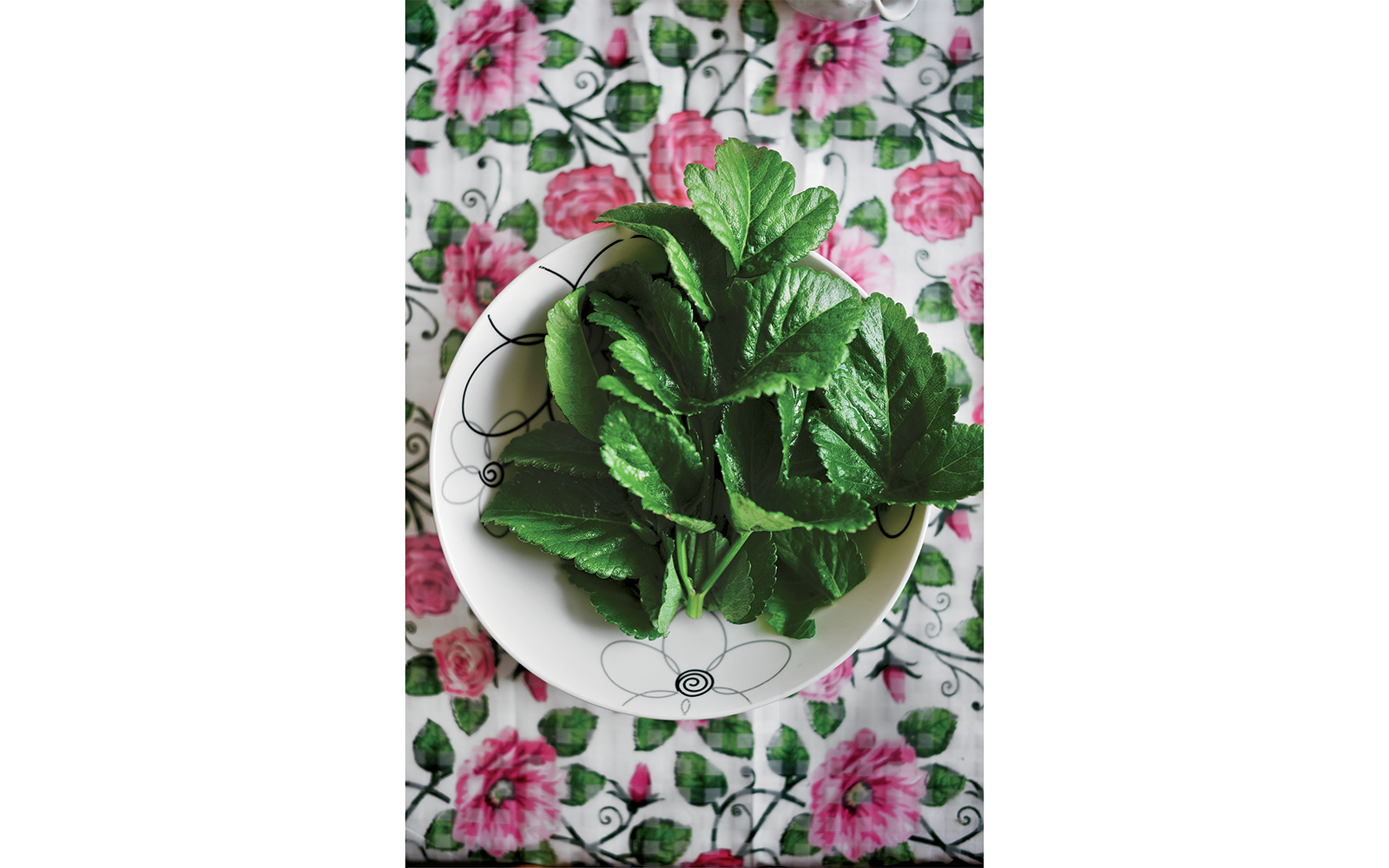 Food in Greenland: Angelica leaves