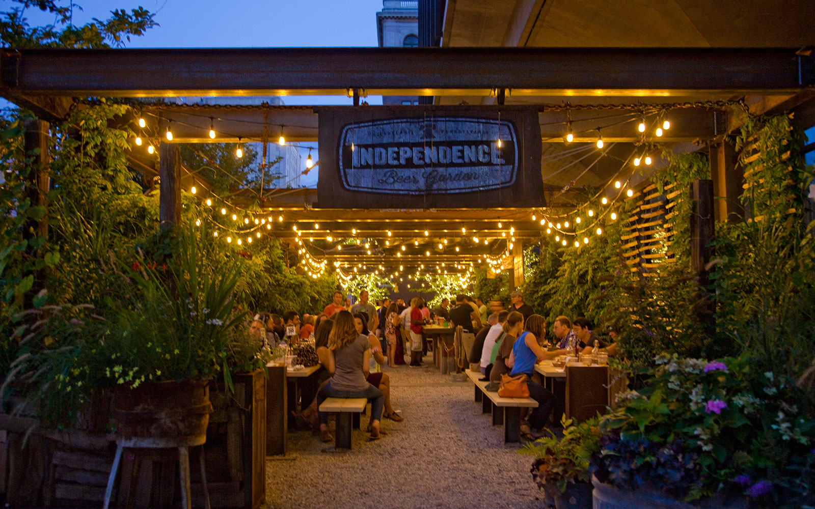 Independence Beer Garden, Philadelphia