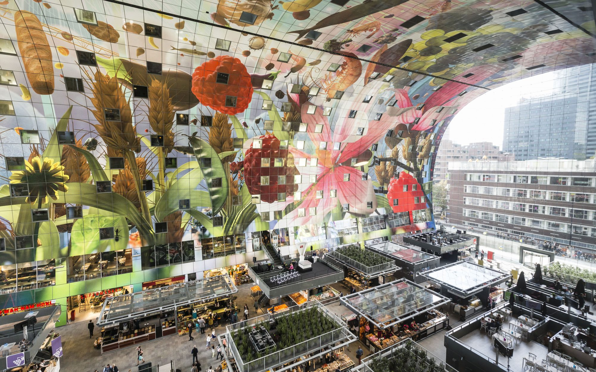Best New Food Halls Around the World: Markthal, Rotterdam