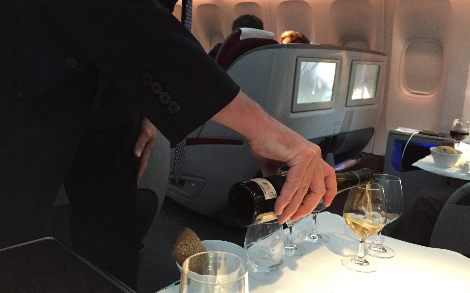 Qatar Airlines: Sommelier