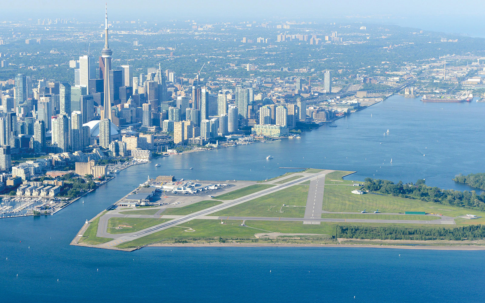 7. Billy Bishop Toronto City Airport