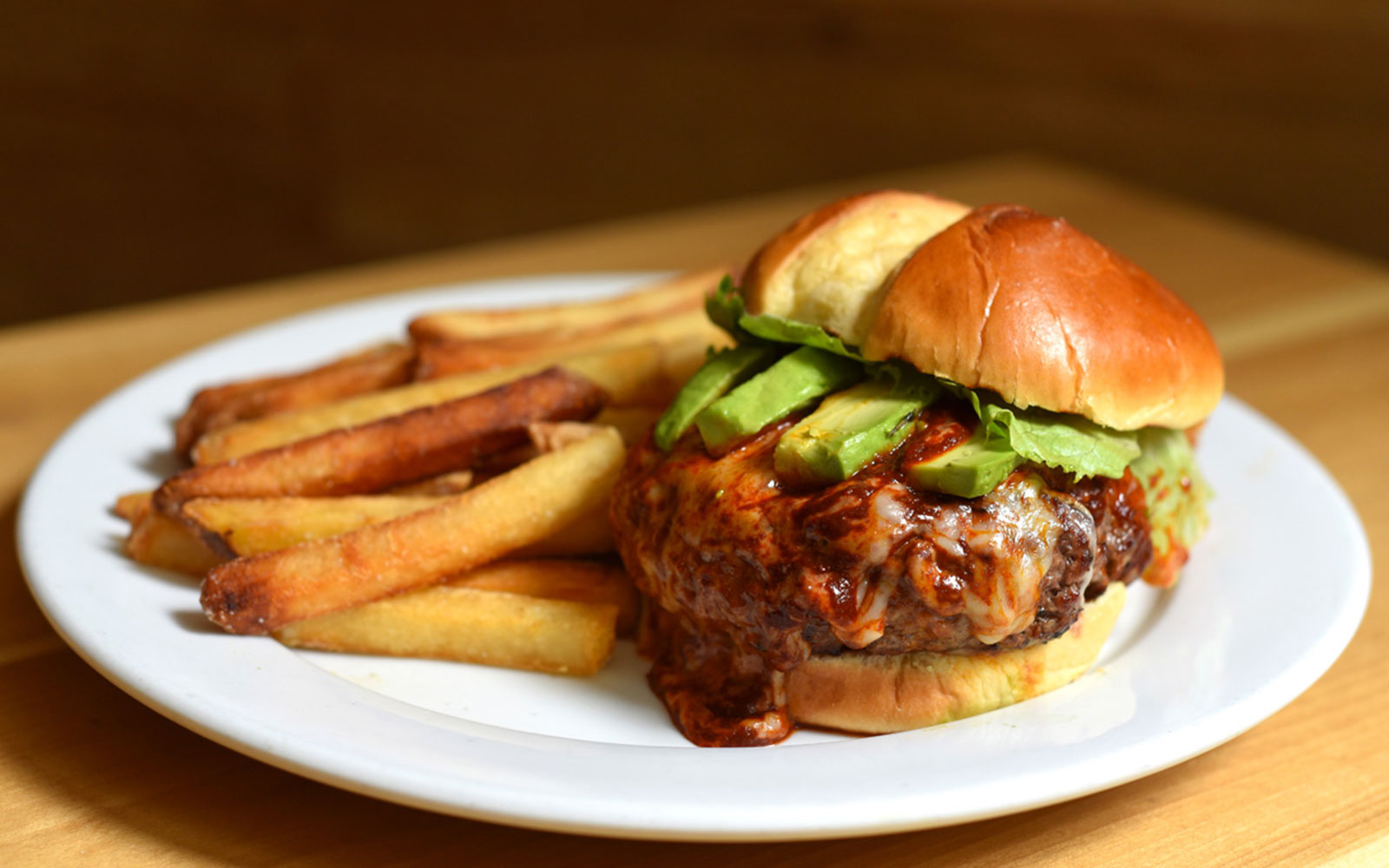 The Cemita Burger ($14) at Javelina