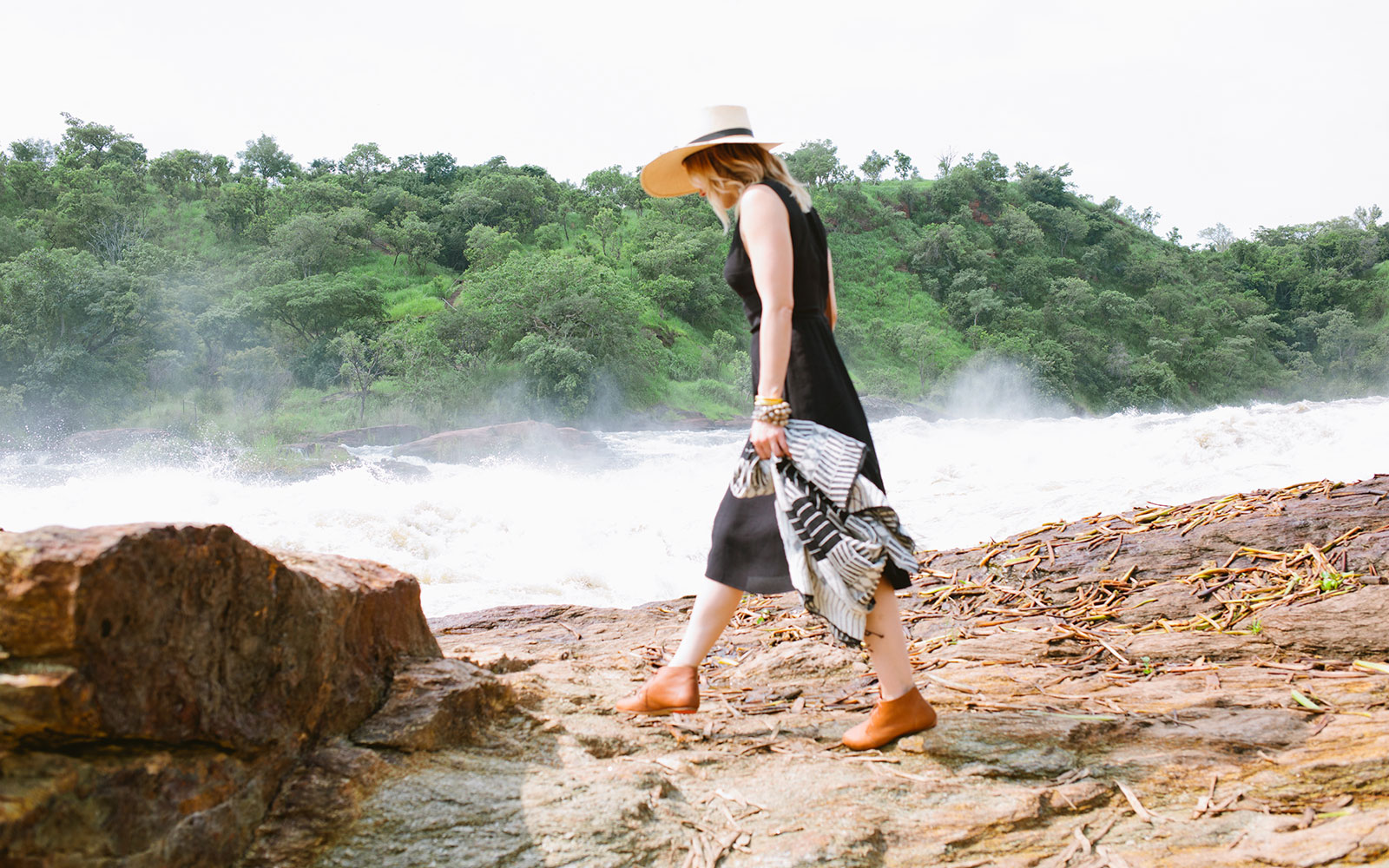 In Photos: Actress Sophia Bush's Trip to Uganda