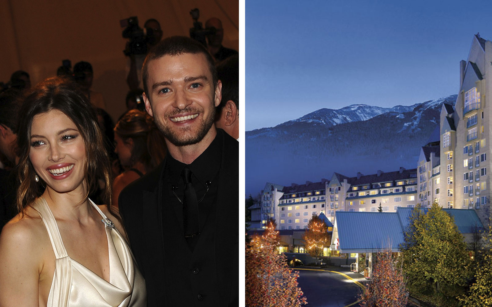 Hotels for Celebrity Sightings: Fairmont Chateau Whistler, Whistler, BC